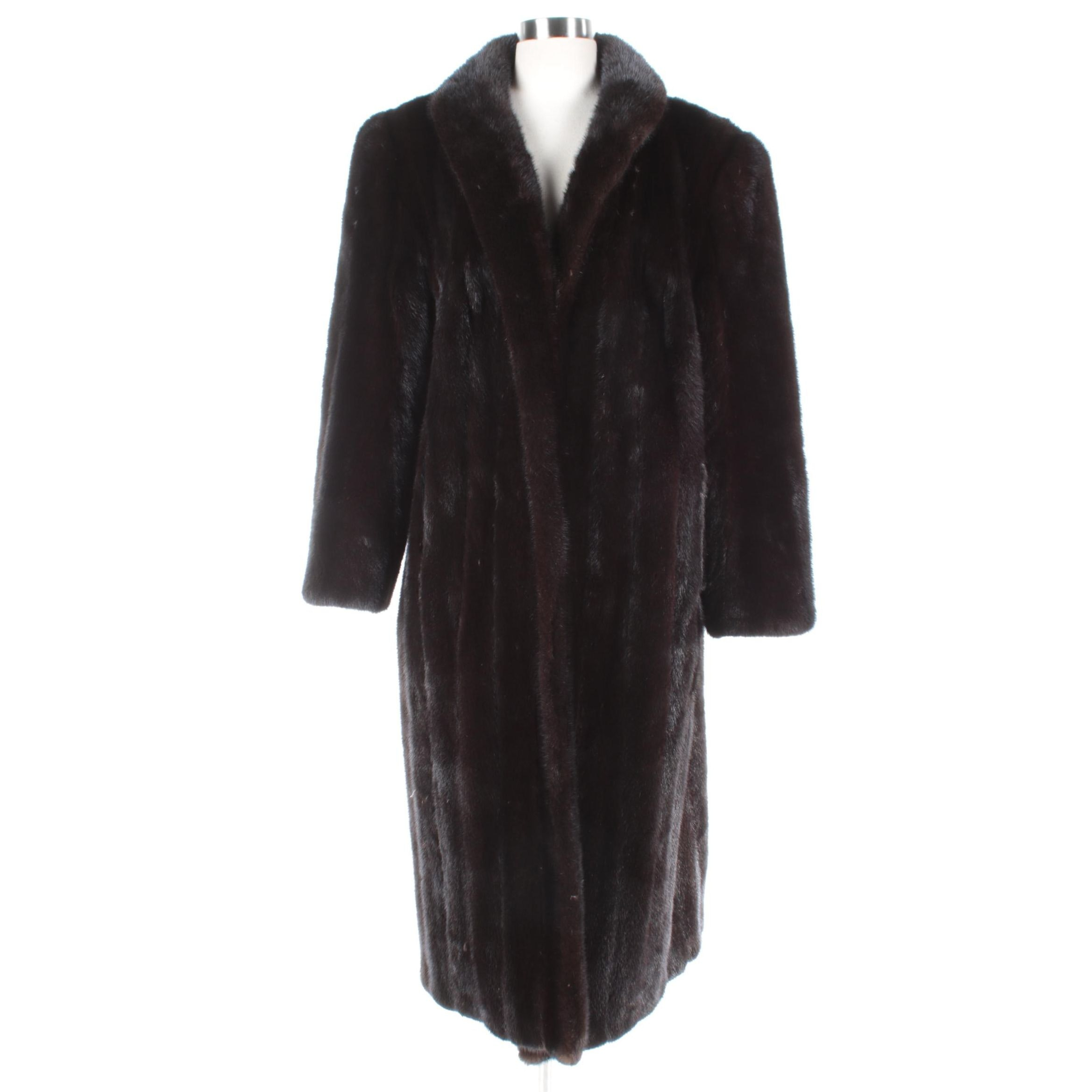 Women's Michael Valente Blackglama Mink Fur Coat