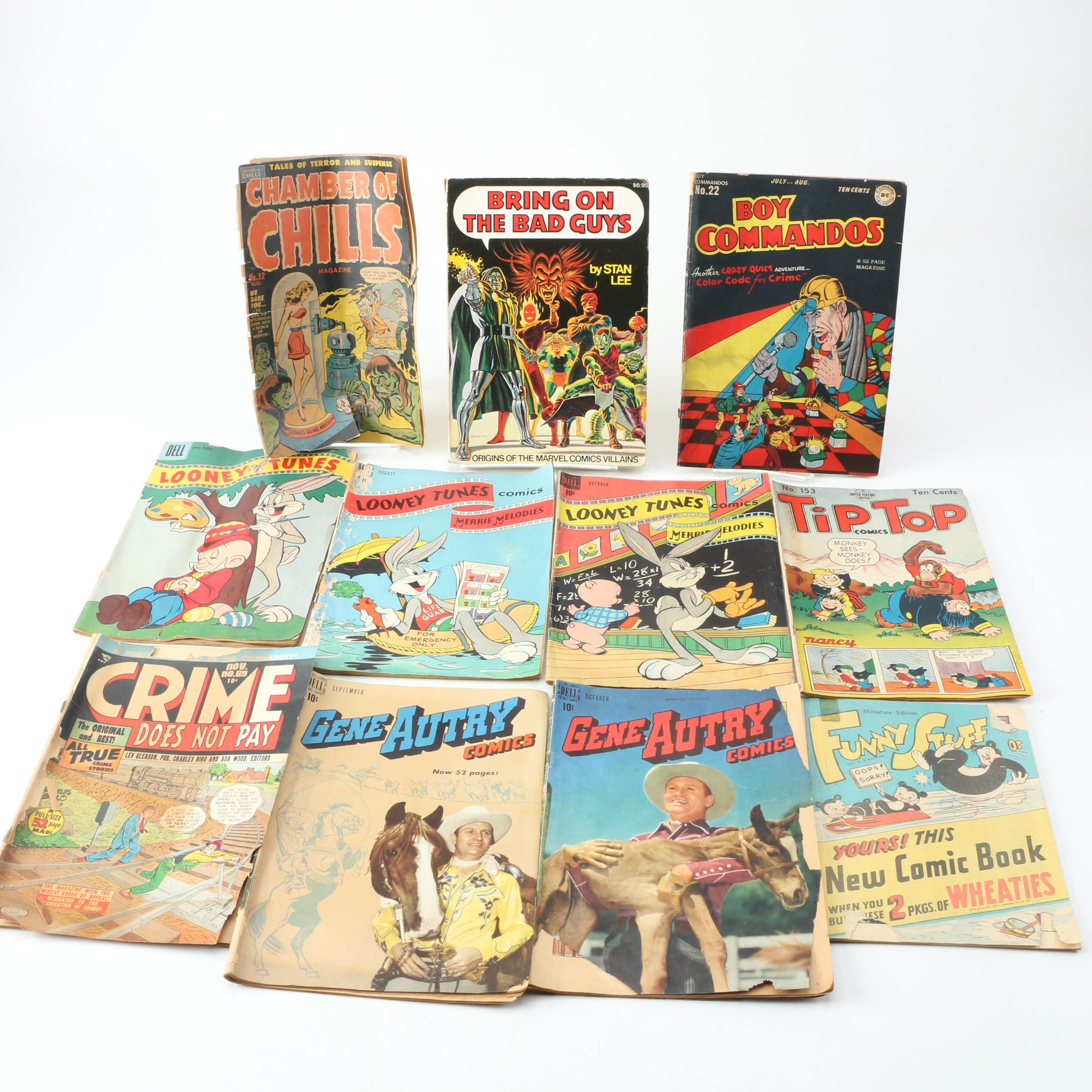"""Golden Age Comics with 1946 """"Funny Stuff Wheaties Giveaway"""""""