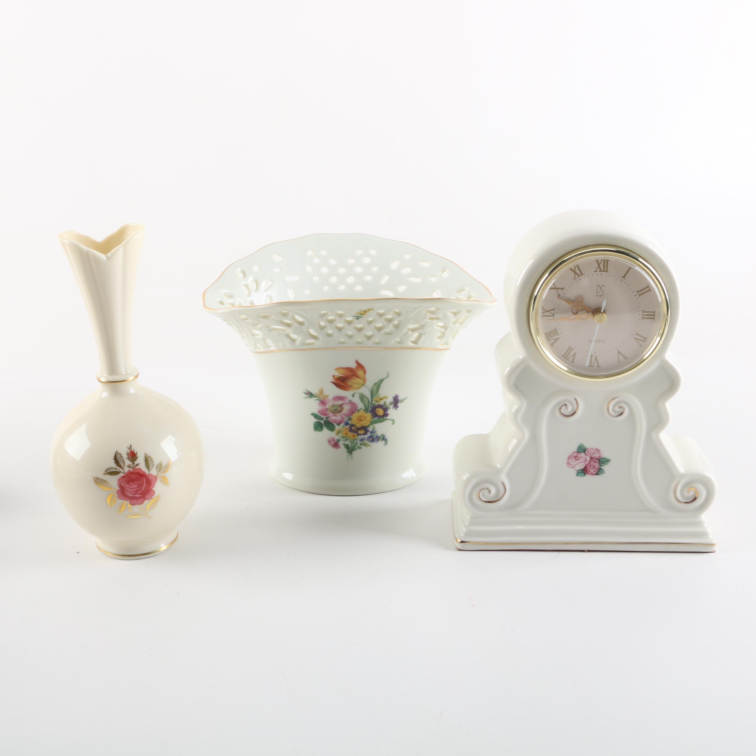 Lenox, Thun and Paul Sebastian Porcelain Decor