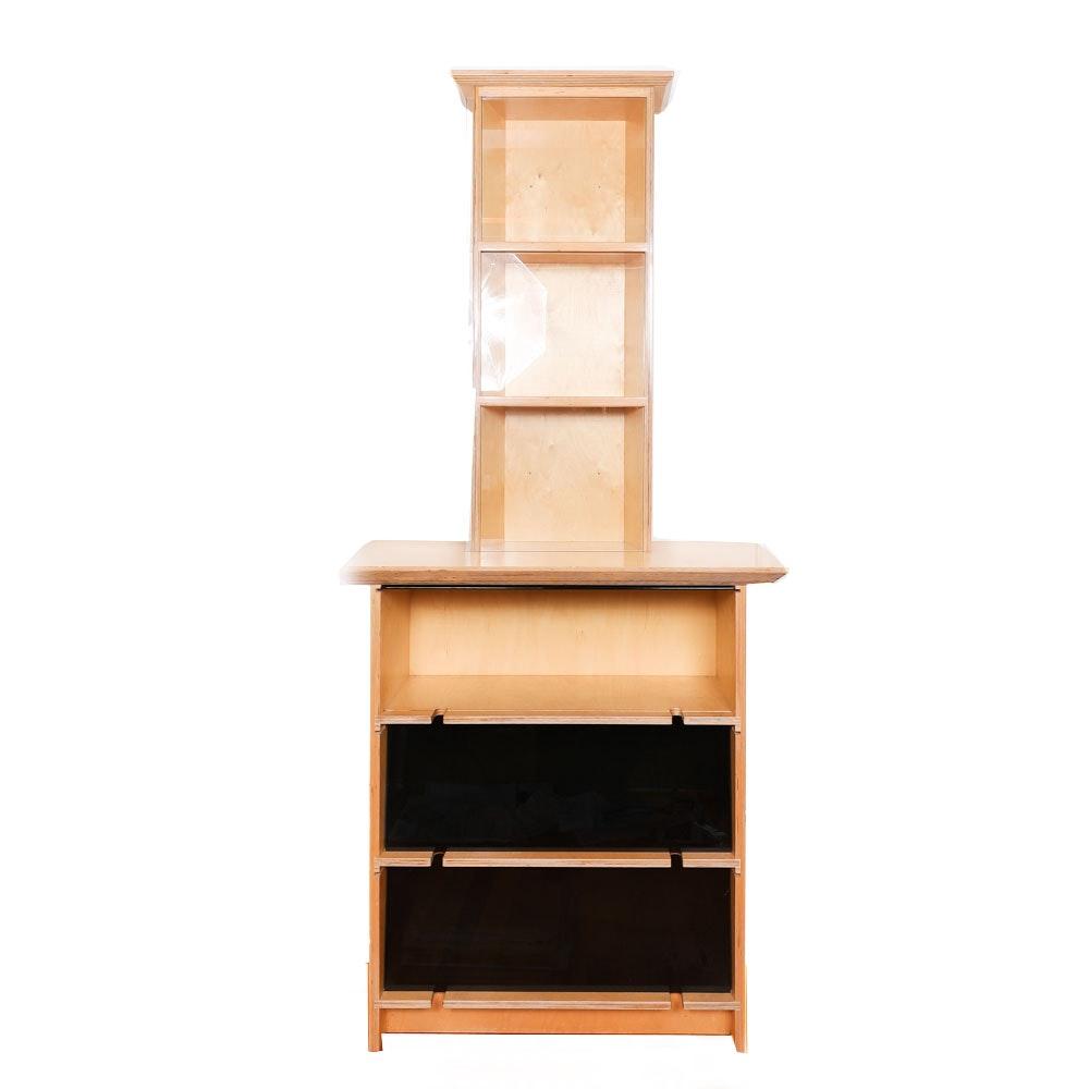 Contemporary Style Bookcase