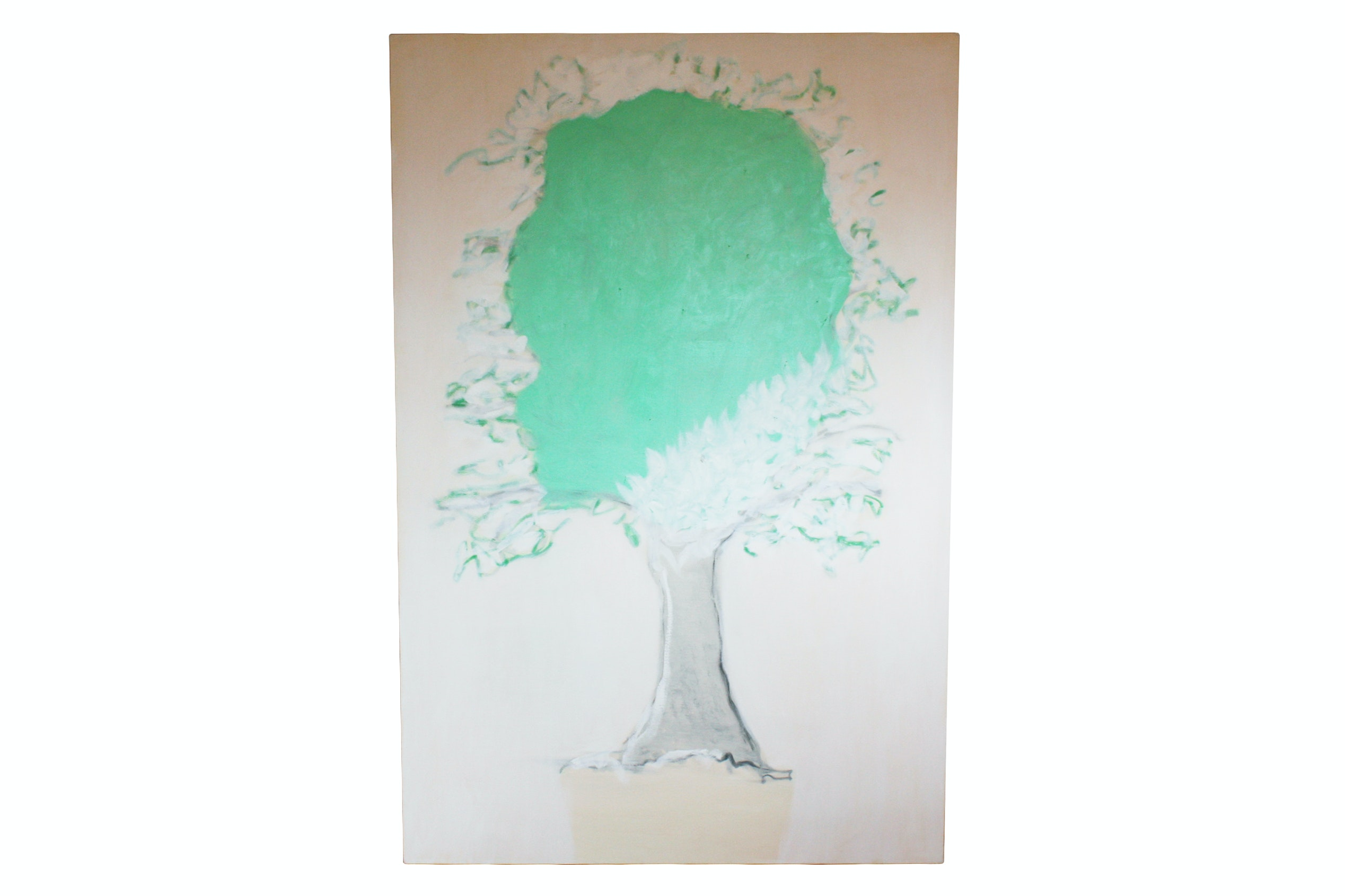 Acrylic Painting of a Tree