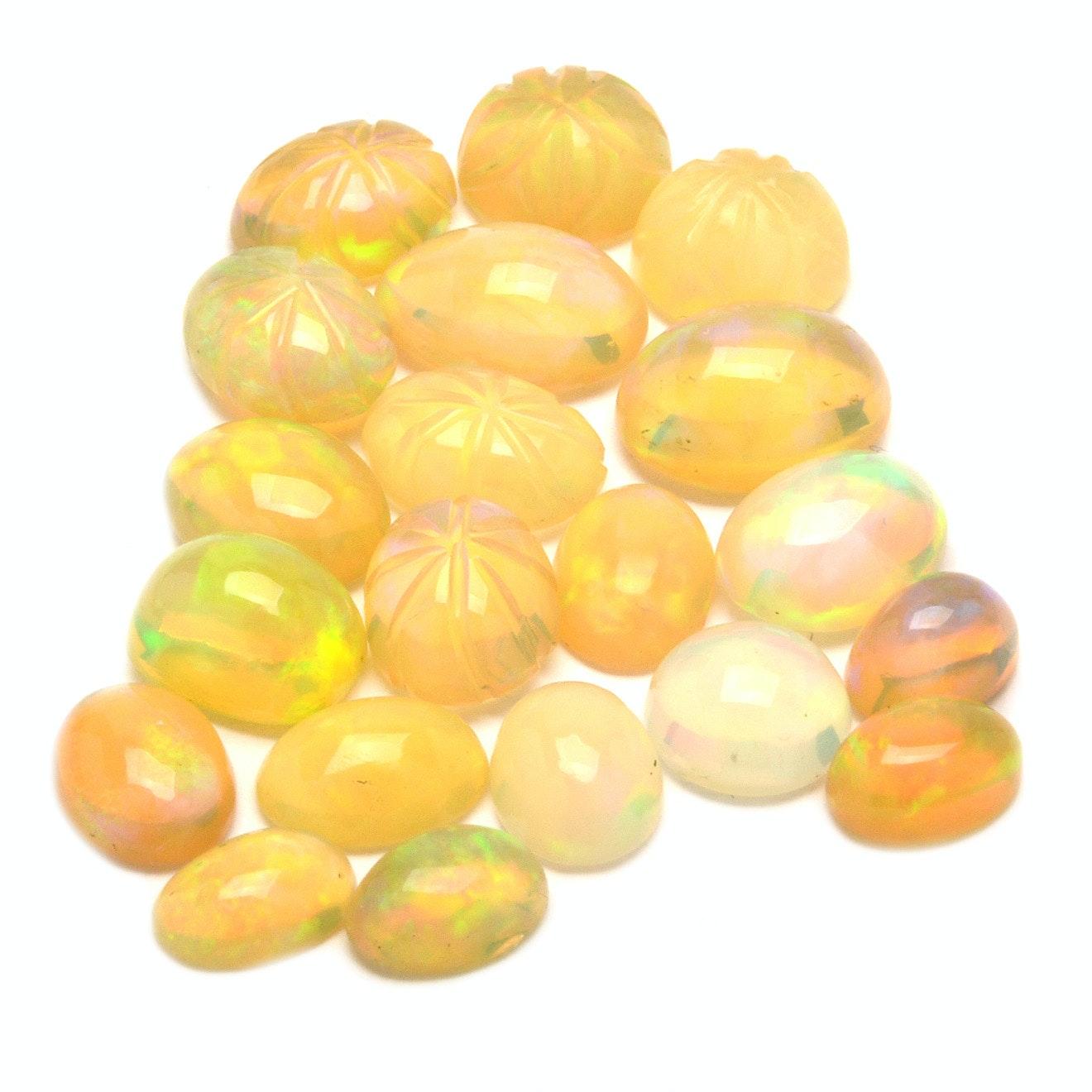 Loose 79.57 CTW Opals