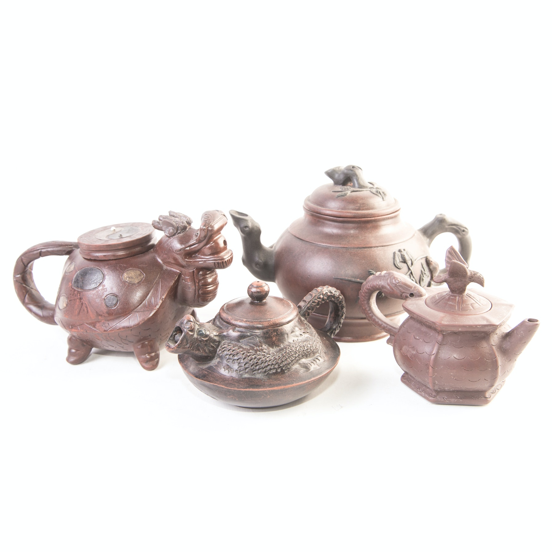 Decorative Asian Teapots
