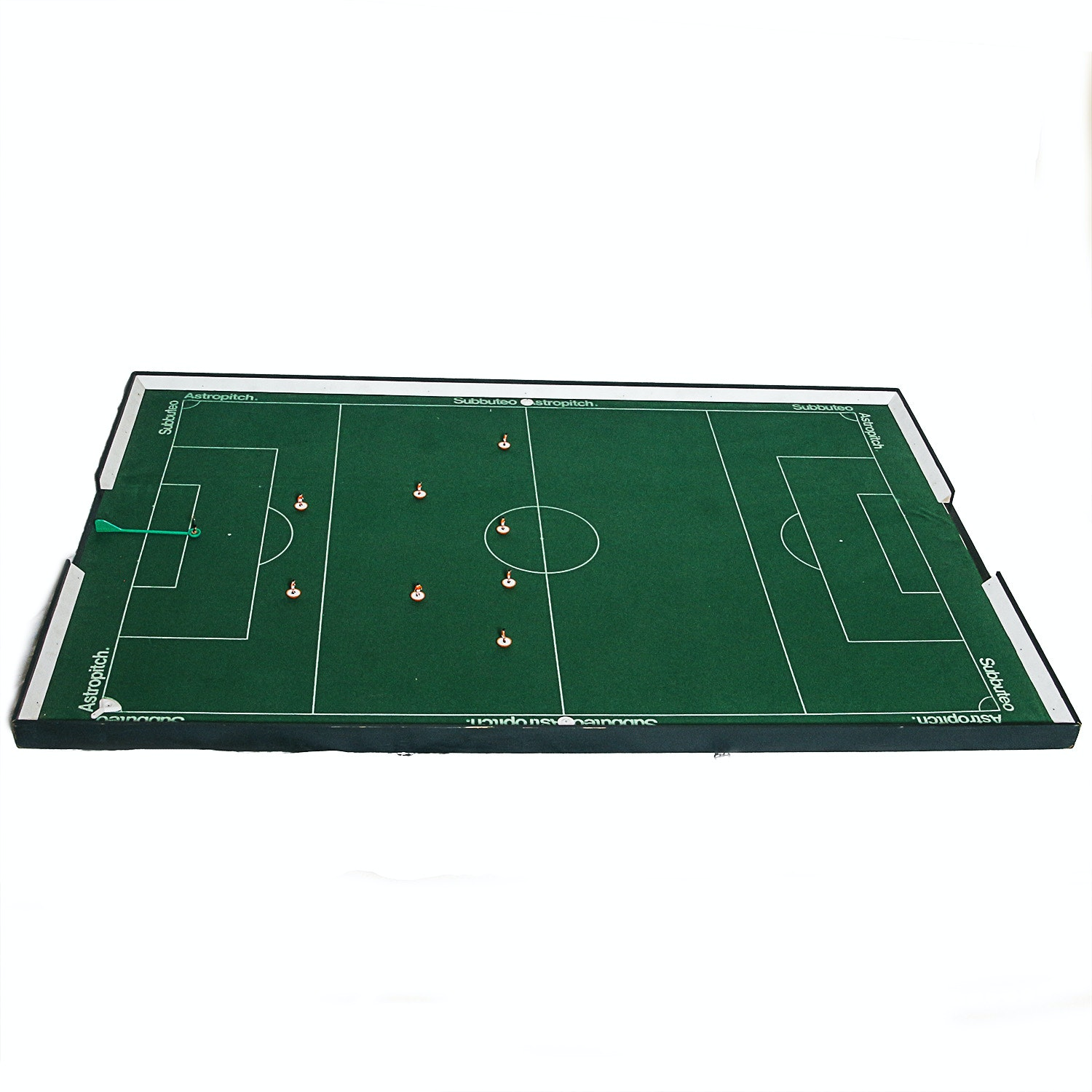 Subbuteo Astropitch Soccer Game Board with Player Pieces