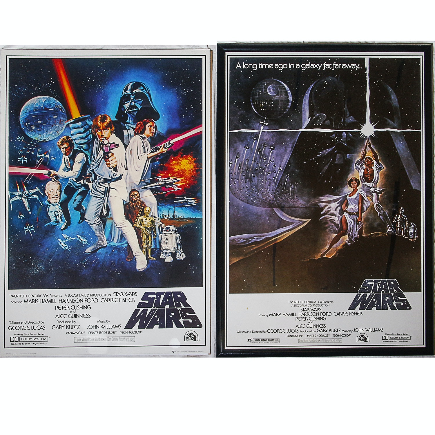 """Star Wars: Episode IV – A New Hope"" Reproduction Posters"