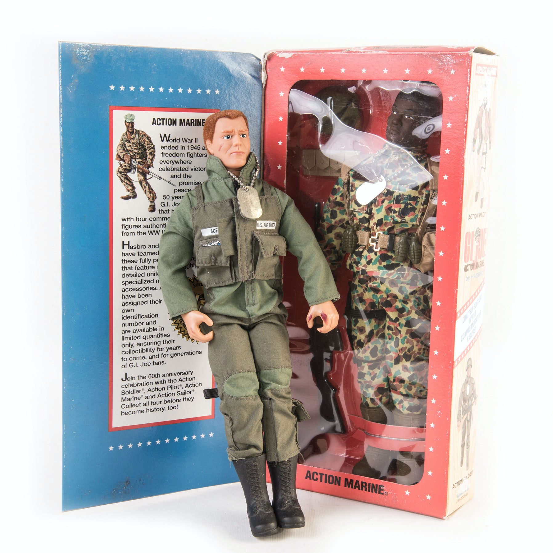Vintage GI-Joe Marine Action Figures