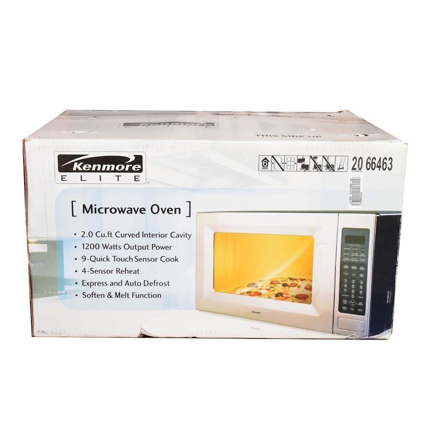Kenmore Elite Microwave Oven