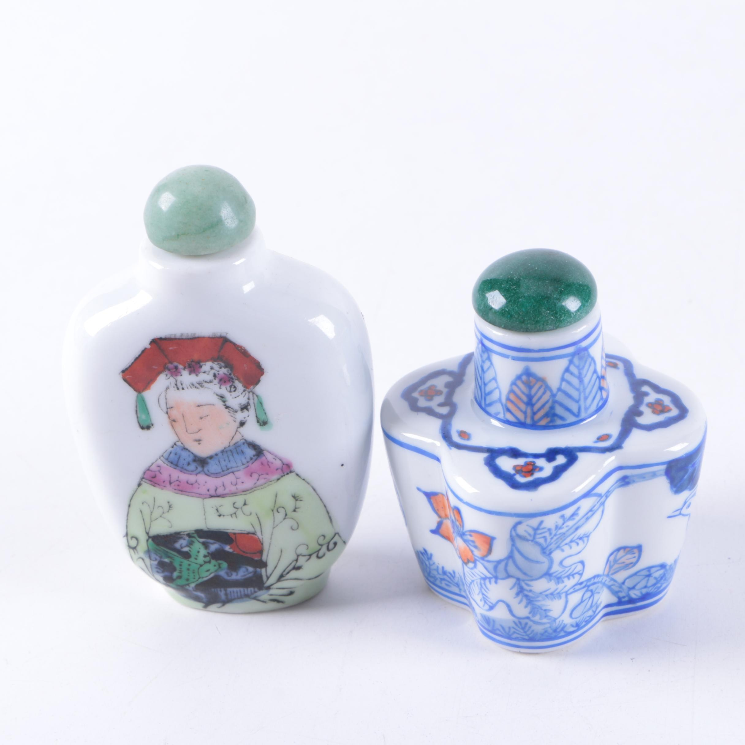Chinese Porcelain Snuff Bottles