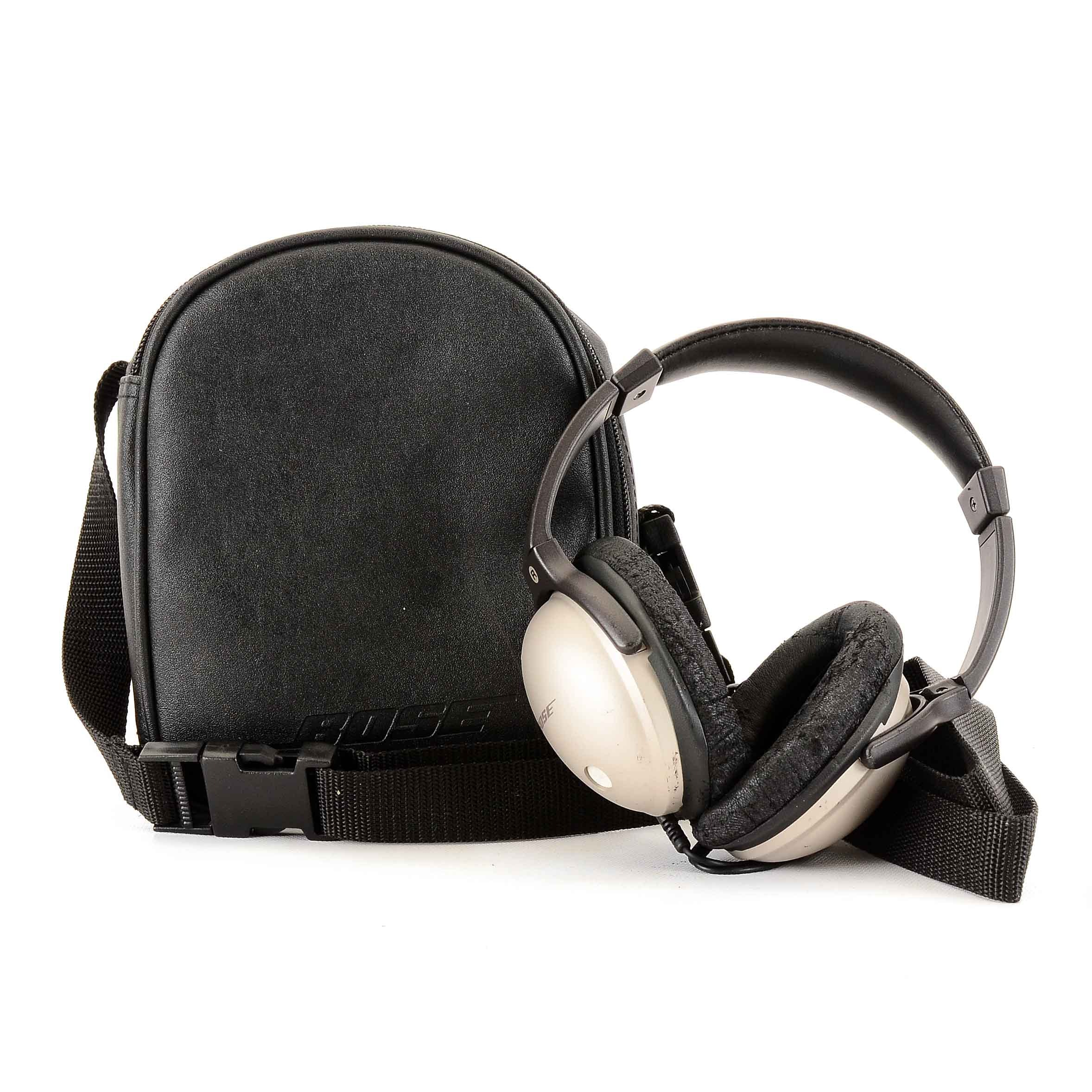 "Pair of Bose ""Quiet Comfort"" Noise-Canceling Headphones"
