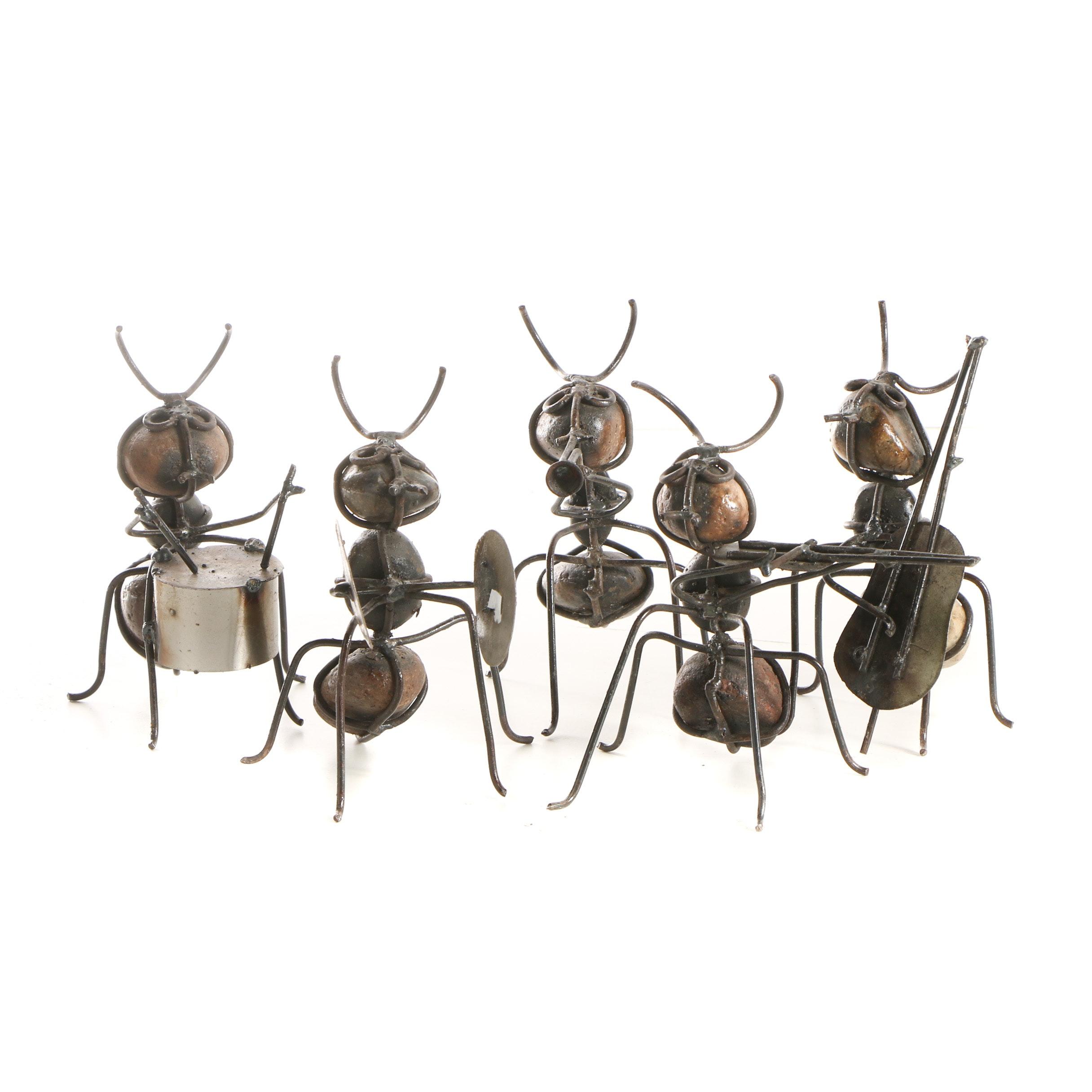 Quartz Ant Sculptures