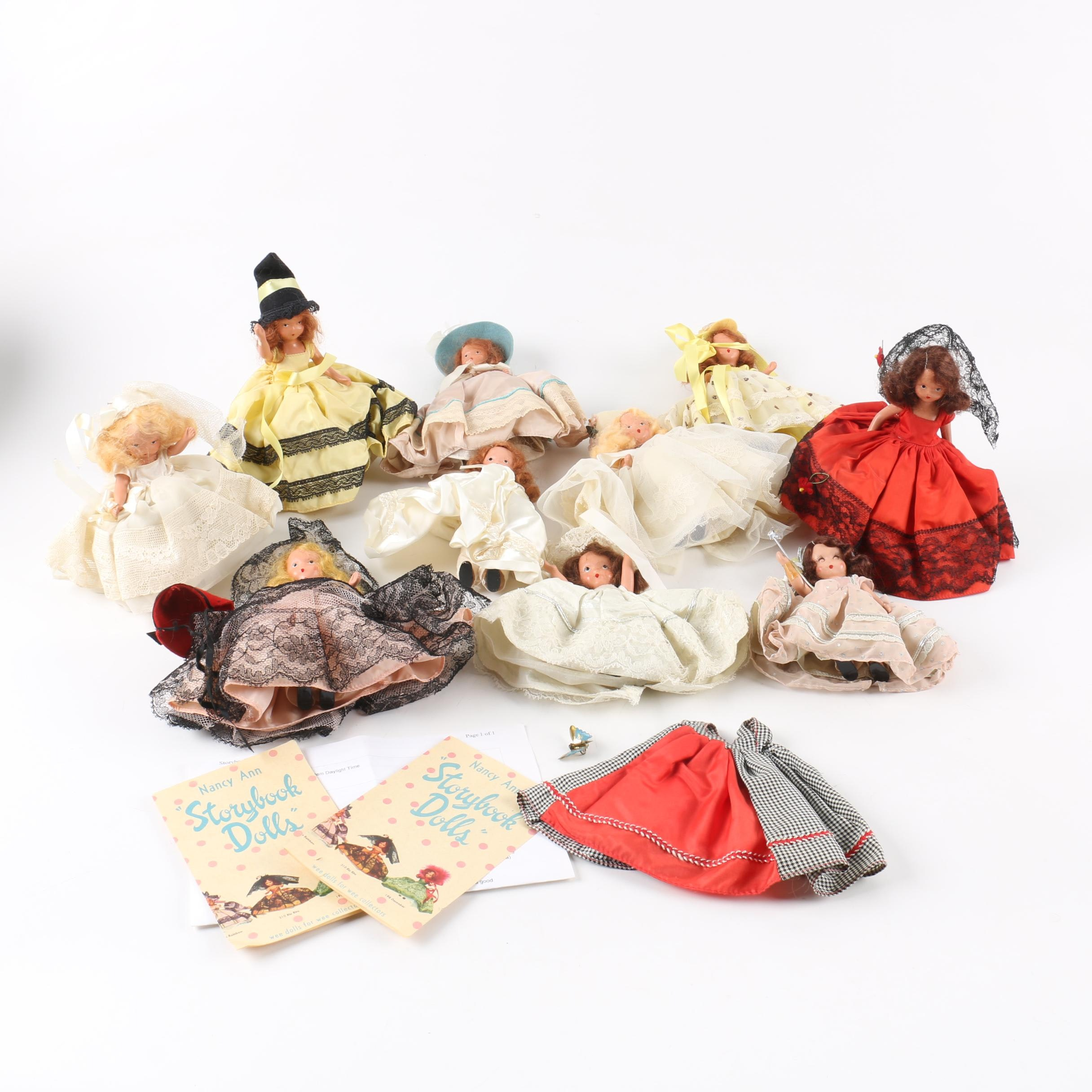 "Vintage Nancy Ann ""Storybook Dolls"""