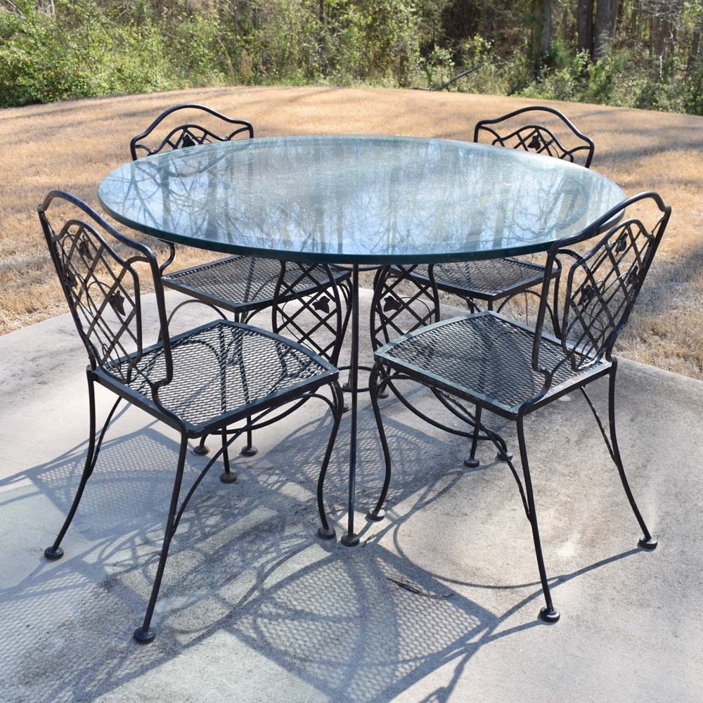 Metal Patio Dinette