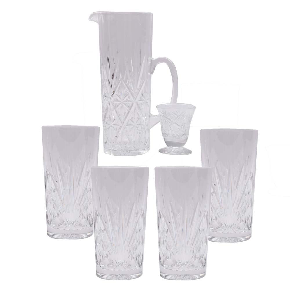 Cut Crystal Glassware