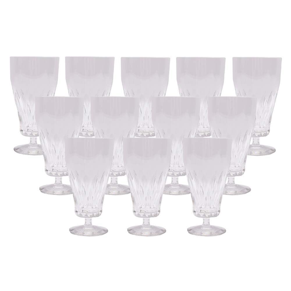 Cut Crystal Iced Tea Glasses