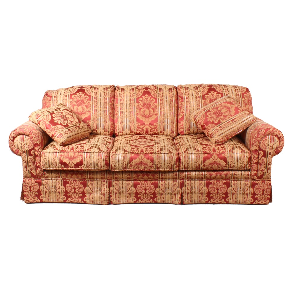 Contemporary Upholstered Sofa by Broyhill