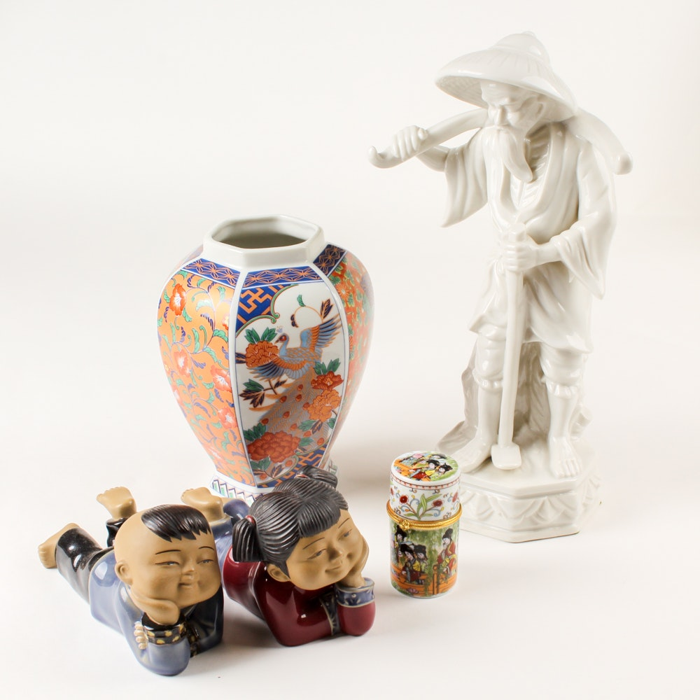 East Asian Figurines and Vessels