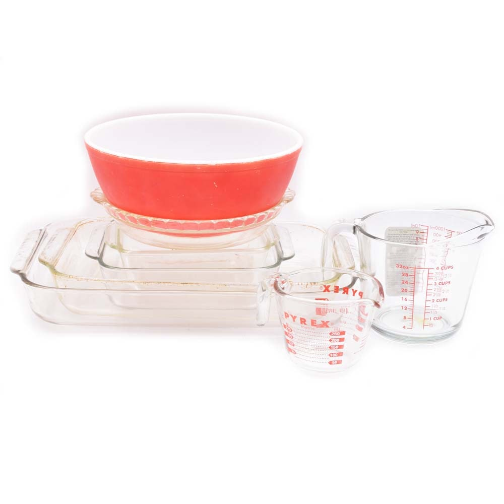 Fire King and Pyrex Bakeware