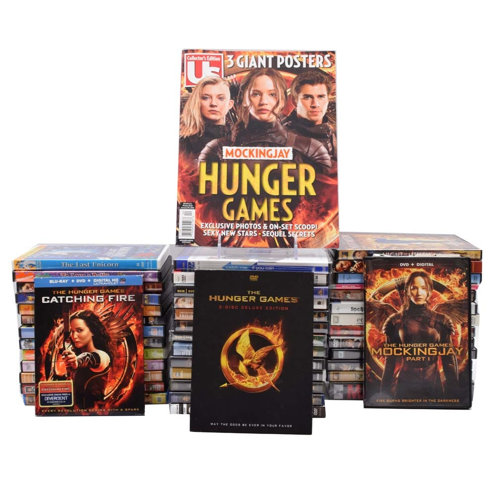 """""""Hunger Games"""" and 40 Other DVDs"""