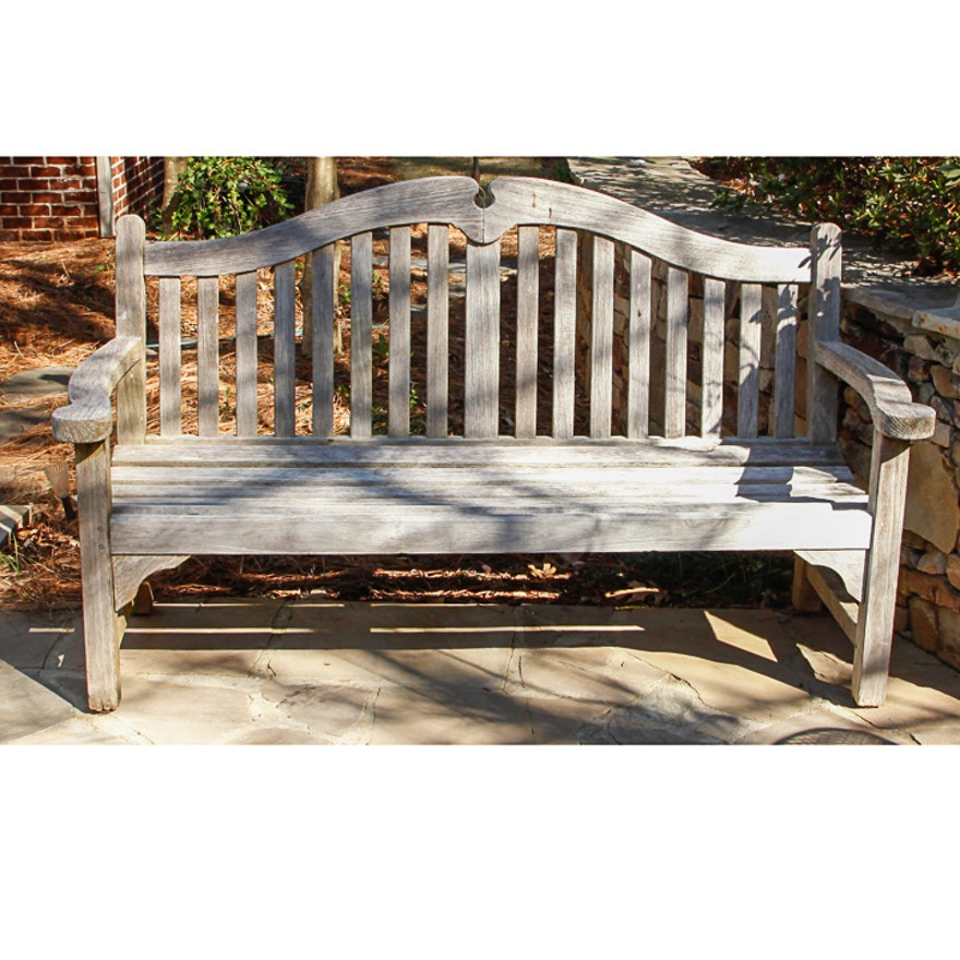 Smith Hawken Teak Outdoor Bench