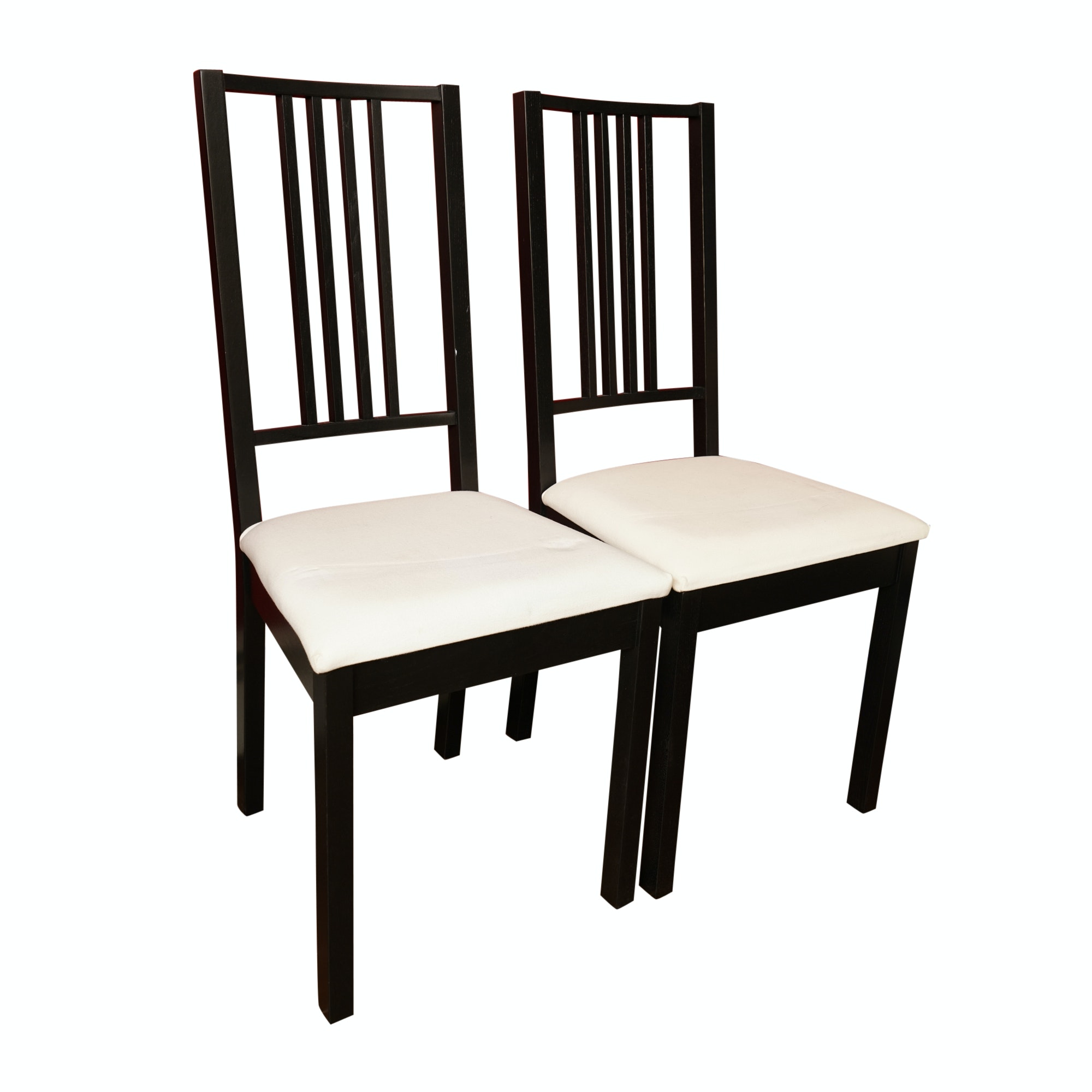 Pair of Contemporary Style Dining Chairs