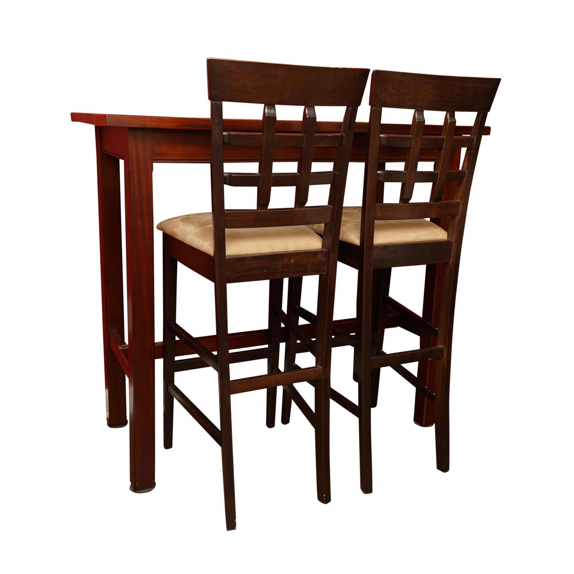 High-Top Dining Table with Chairs