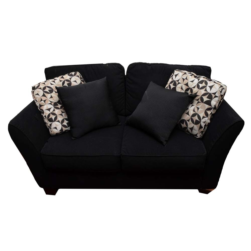 Loveseat with Pillows by Bauhaus