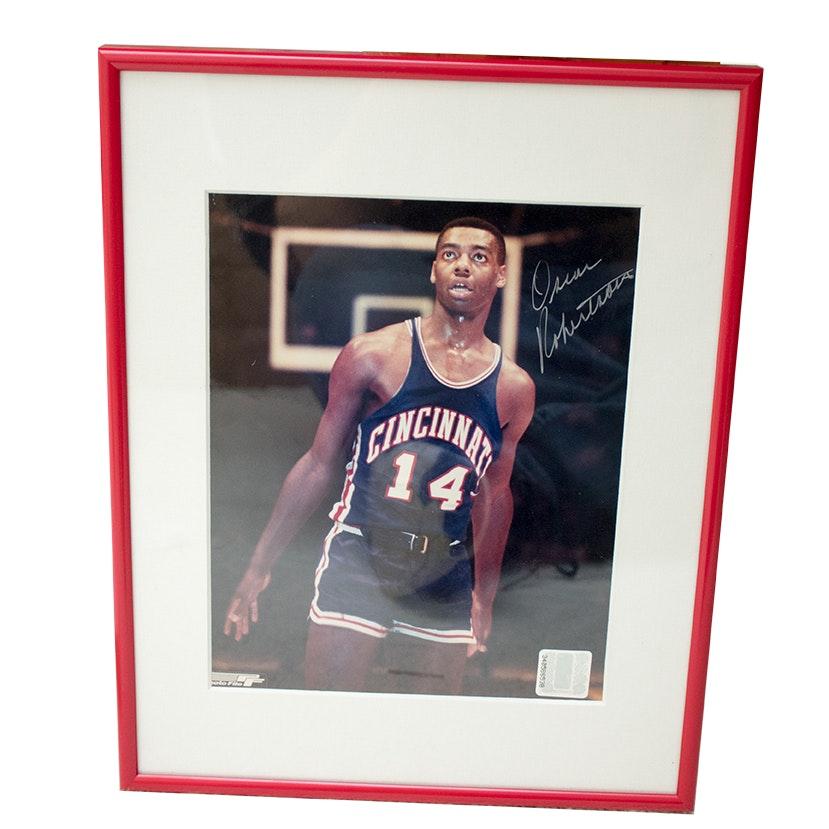Oscar Robertson Signed Photo File