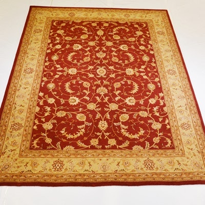 Hand Tufted Persian Design Wool Area Rug