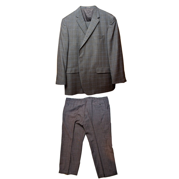 Men's Hart Schaffner and Marx Designer Suit