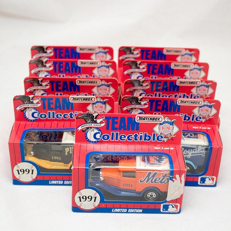Matchbox Baseball Team Collectibles