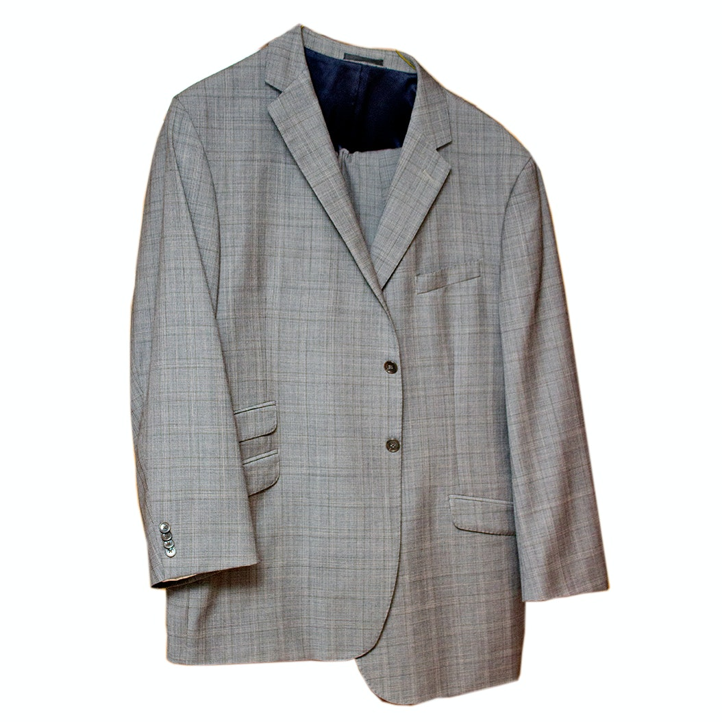 Men's Kenneth Cole Designer Wool Suit