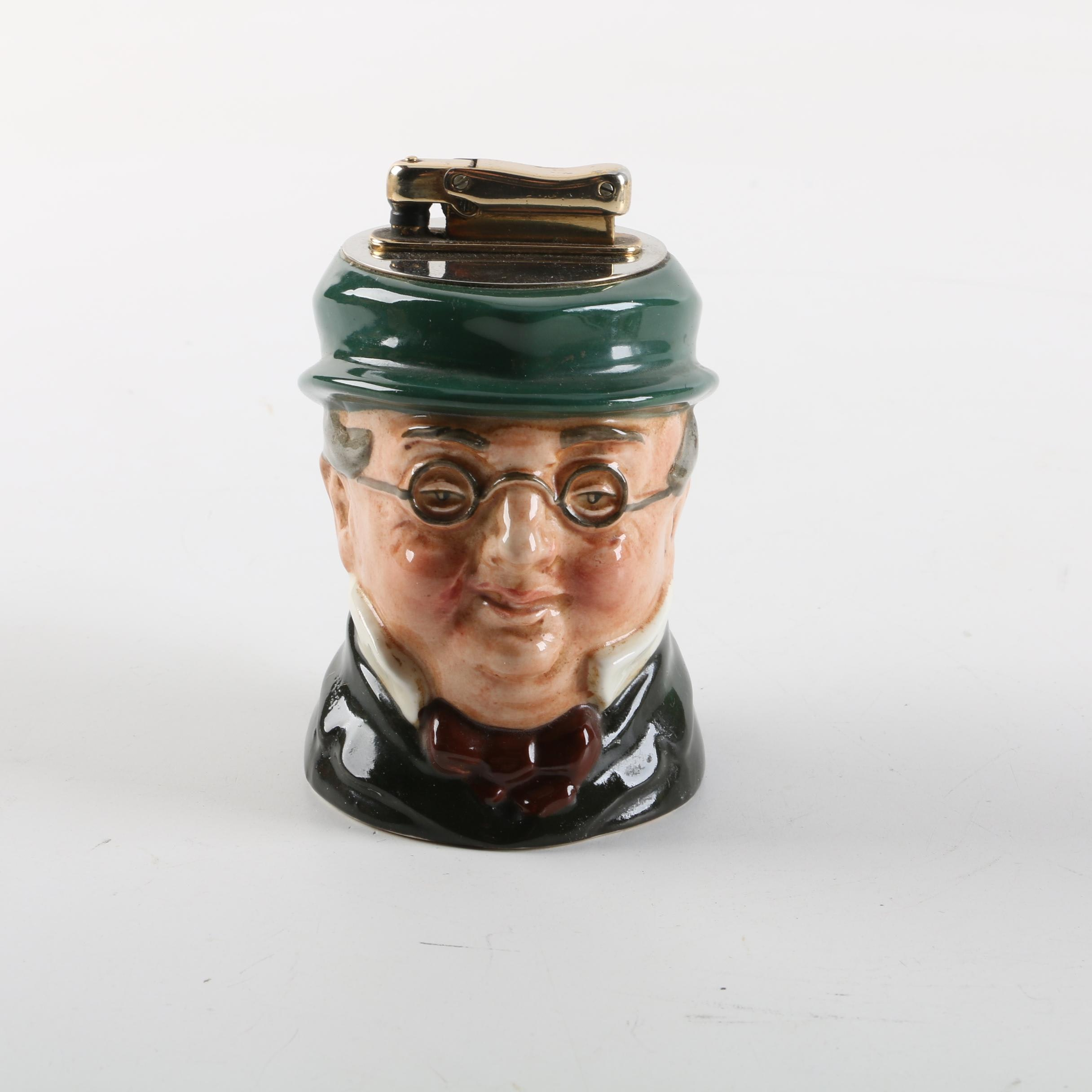 "Royal Doulton ""Mr. Pickwick"" Character Jug Style Lighter"