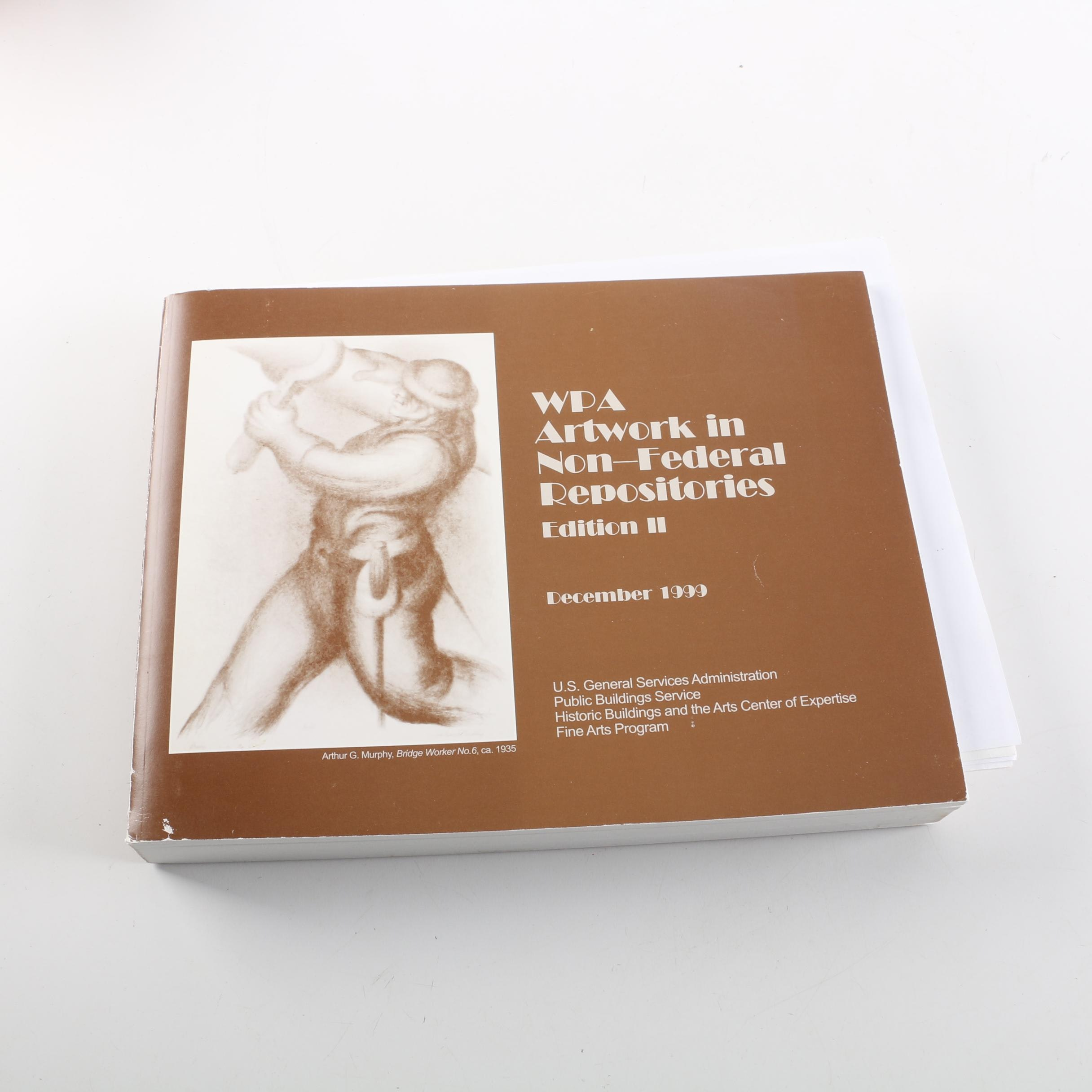 "1999 ""WPA Artwork in Non-Federal Repositories - Edition II"""