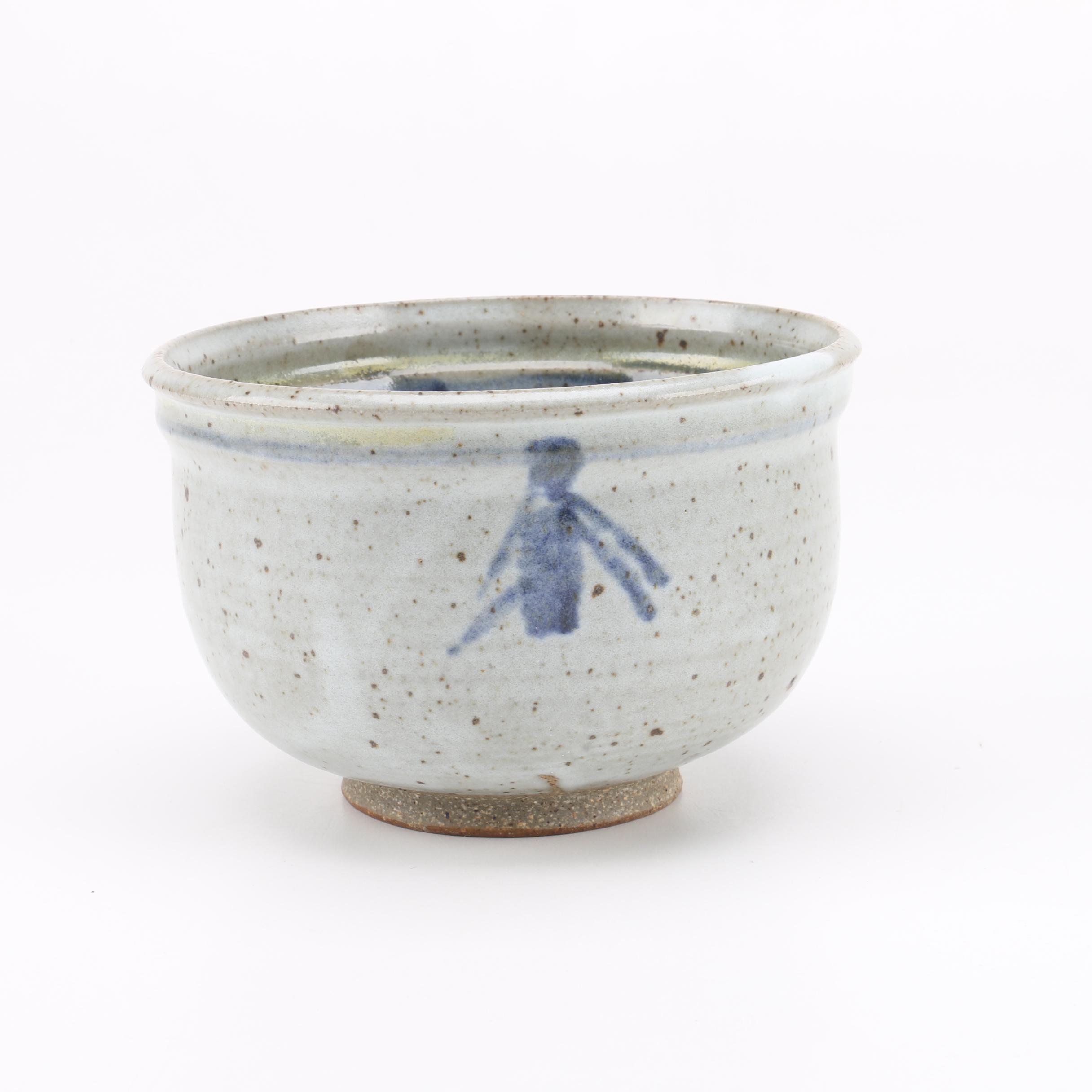 Hand Thrown Stoneware Tea Bowl