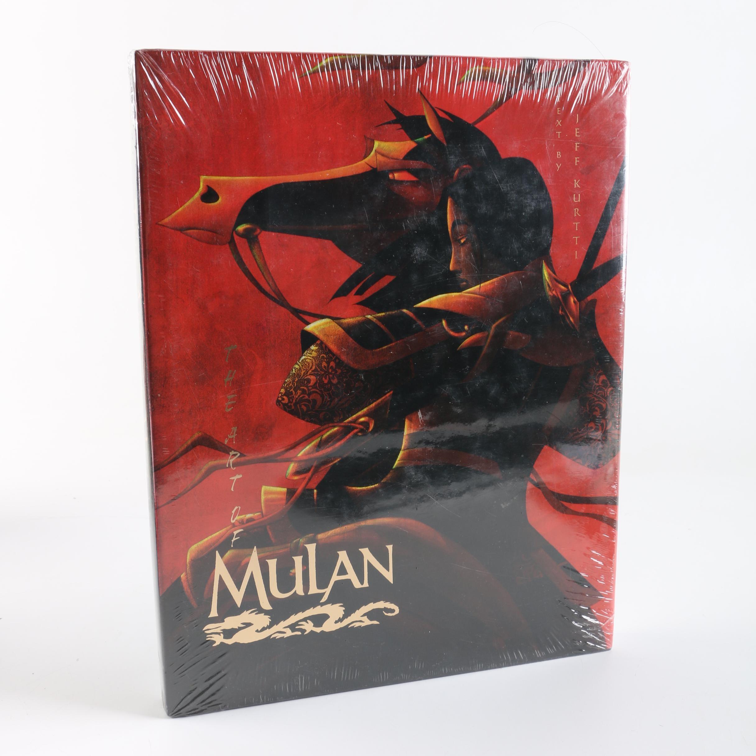 """1998 """"The Art of Mulan"""" by Jeff Kurtti"""