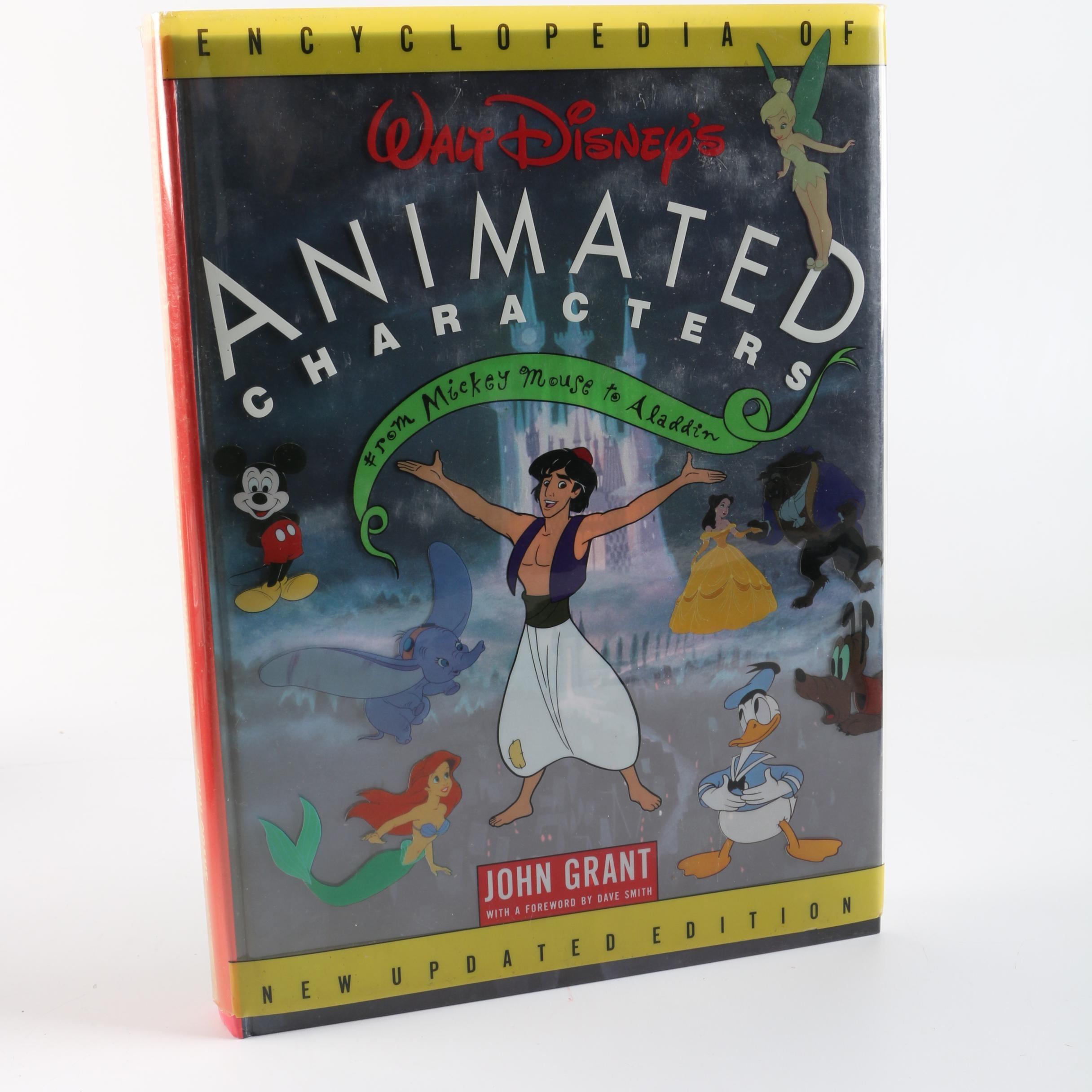 "1993 ""Encyclopedia of Walt Disney's Animated Characters"" by John Grant"