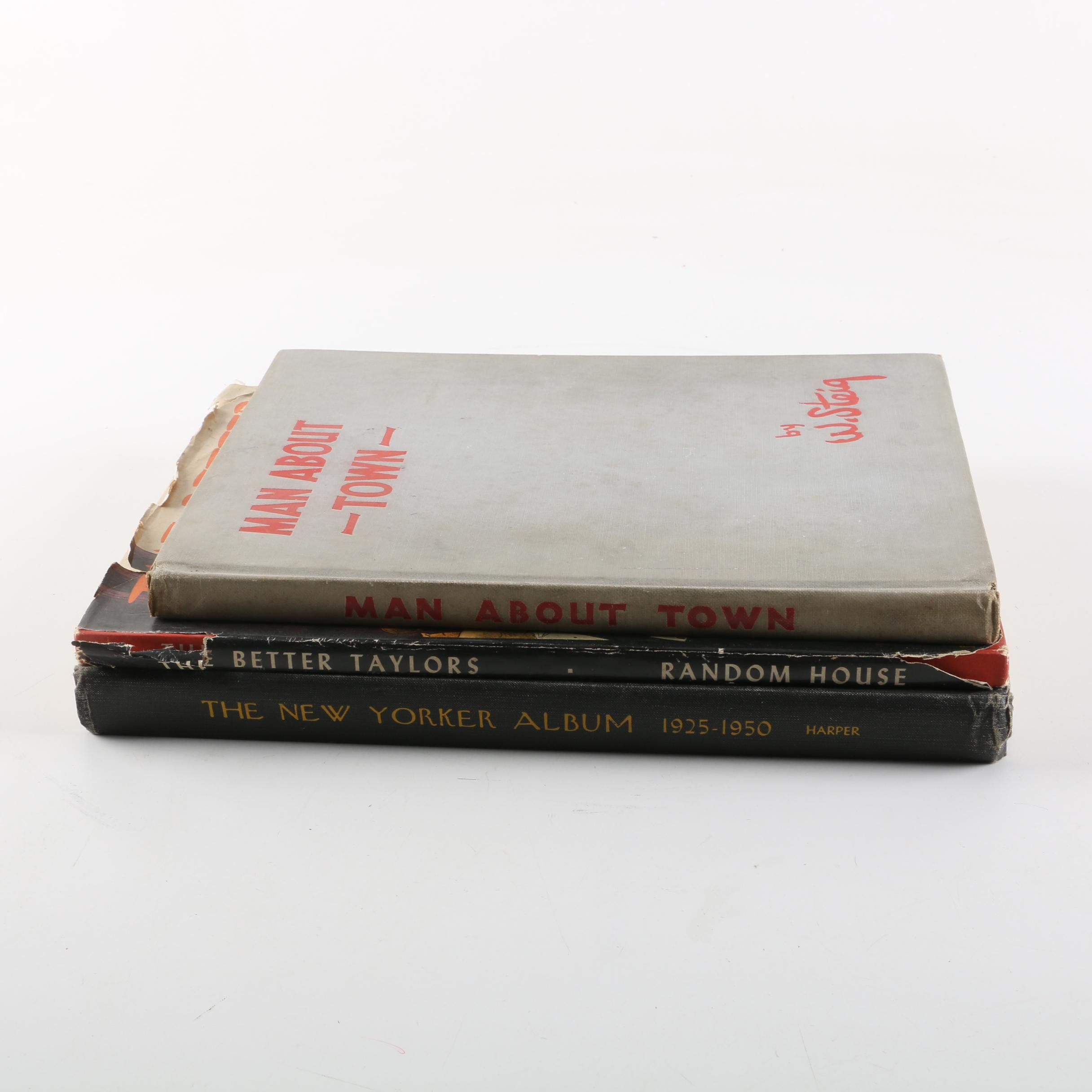 """Vintage William Steig, Richard Taylor and """"The New Yorker"""" Cartoon Collections"""