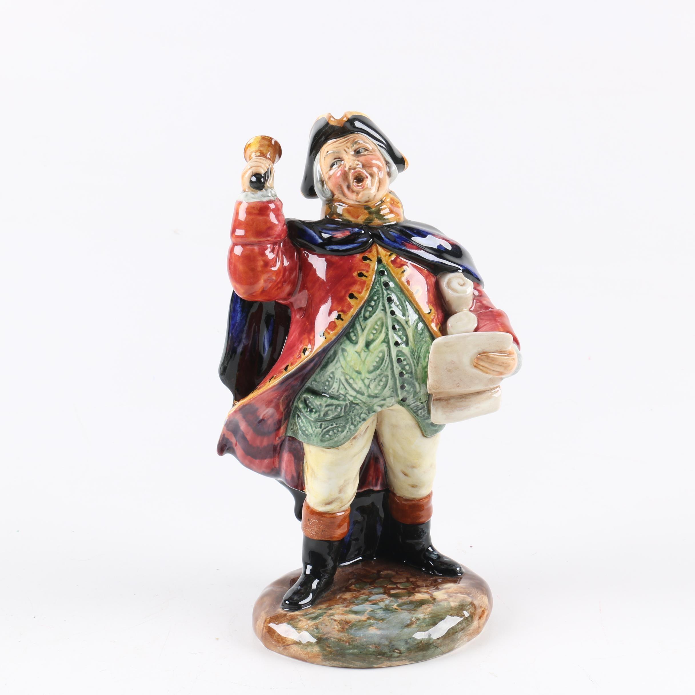 "Vintage Royal Doulton ""Town Crier"" HN 2119 Figurine"