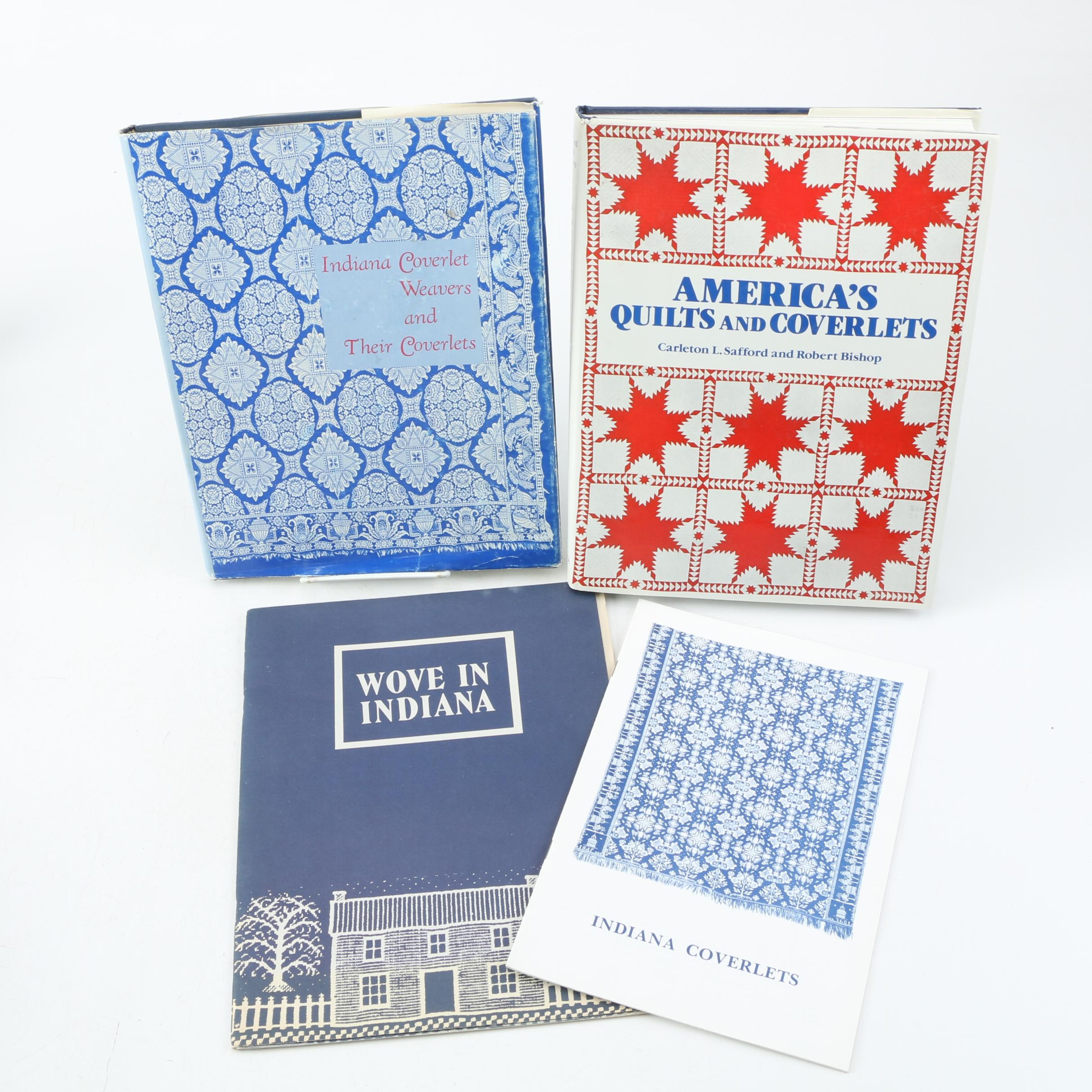 "1985 ""America's Quilts and Coverlets"" and Indiana Books"