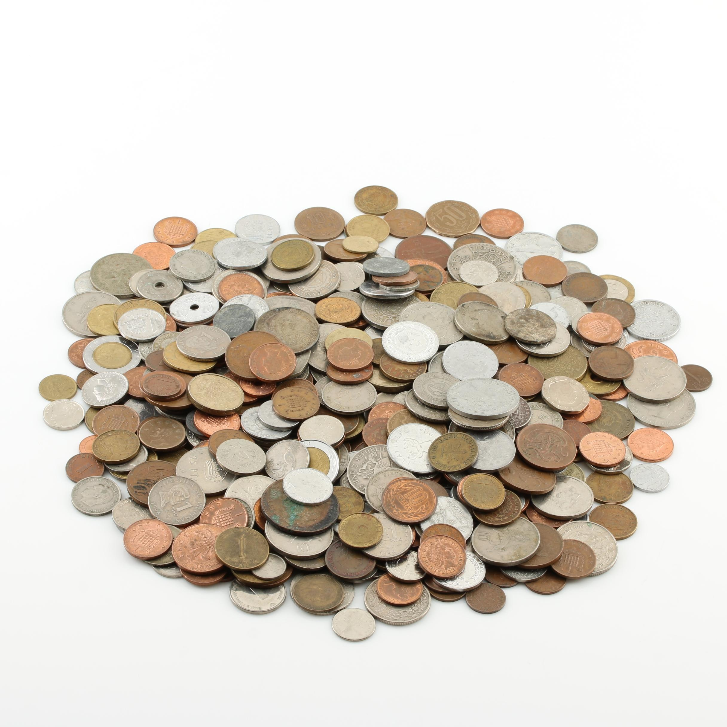 500 Foreign Coins and Tokens