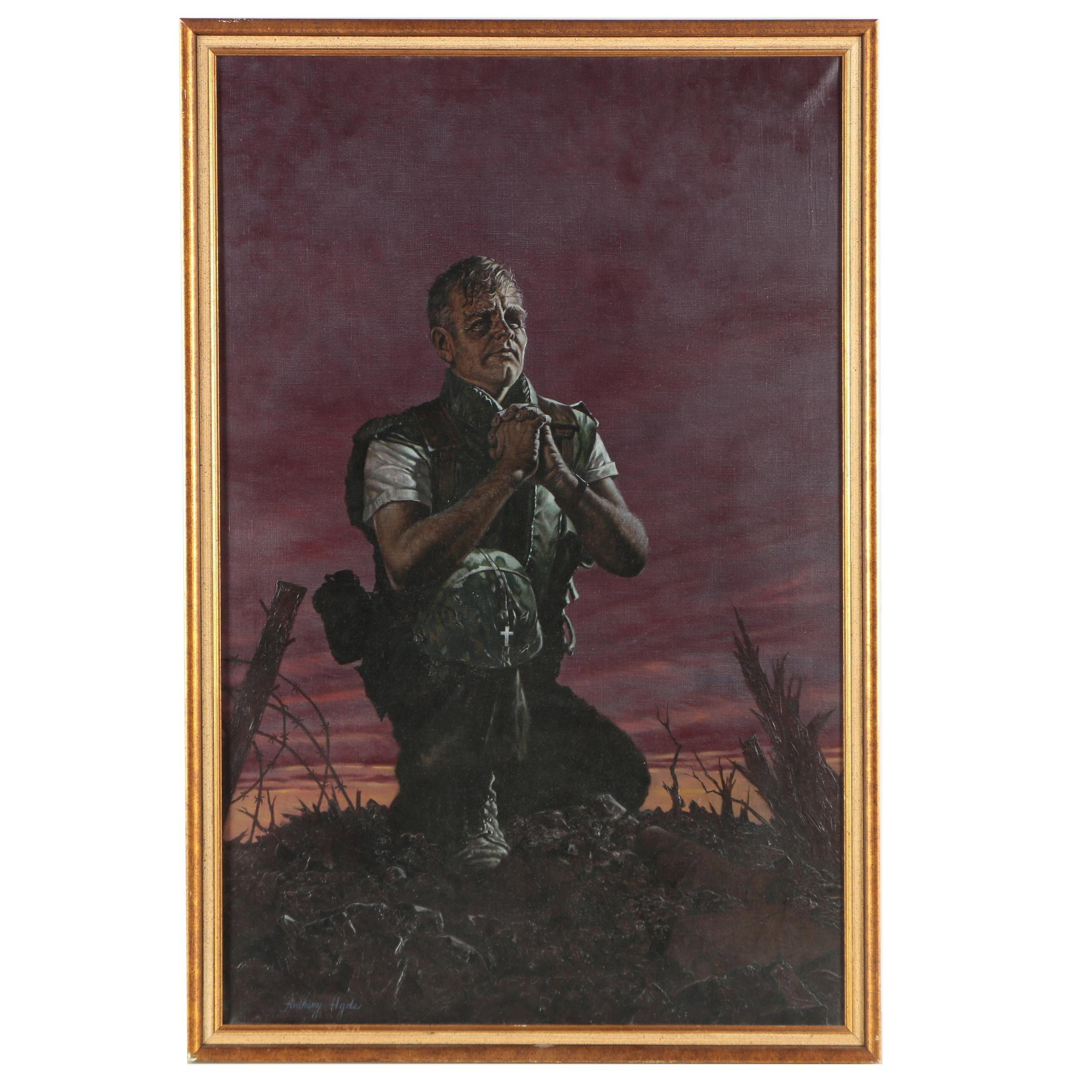 Anthony Hyde Acrylic Painting