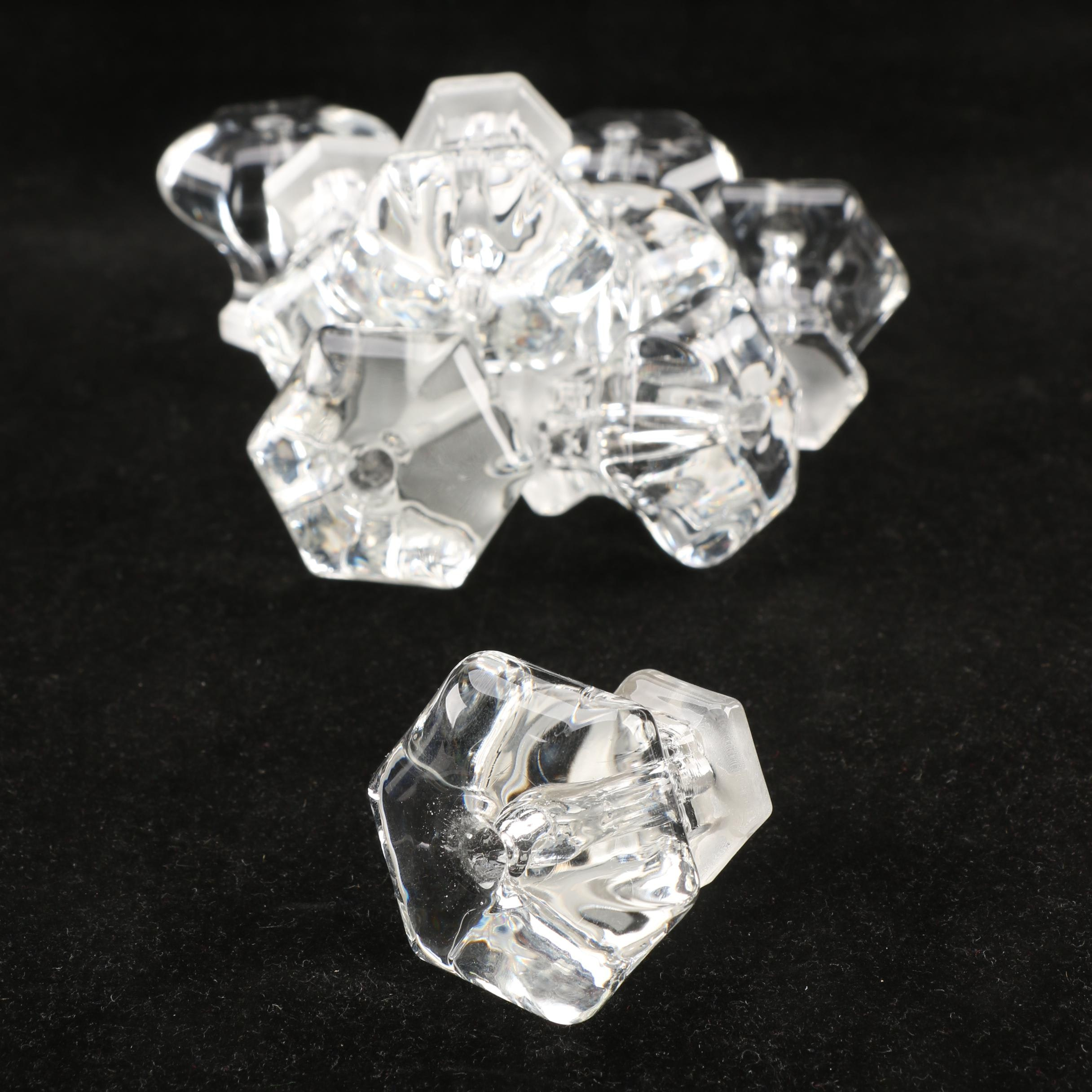 Collection of Glass Cabinet Knobs