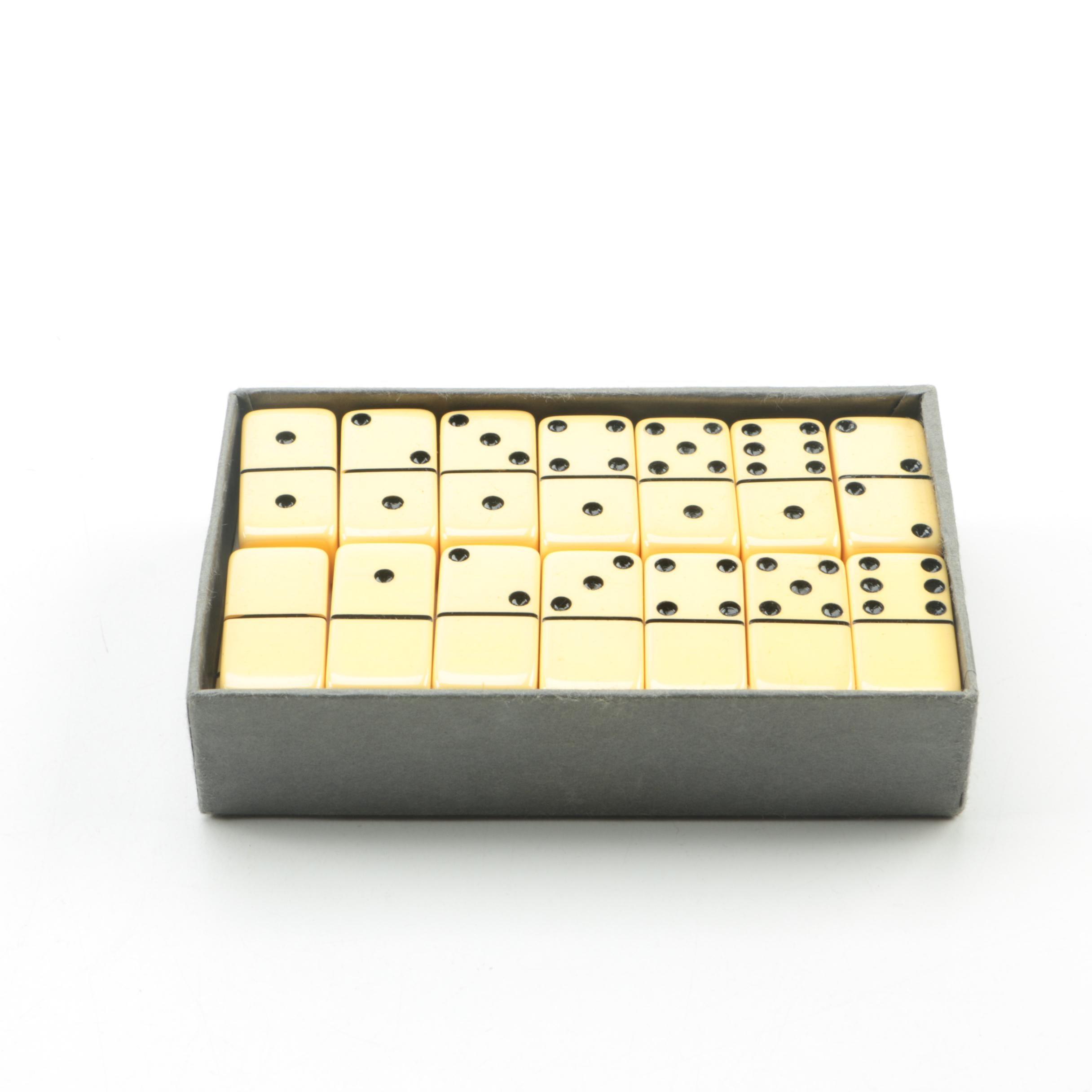 Bakelite Dominoes Set