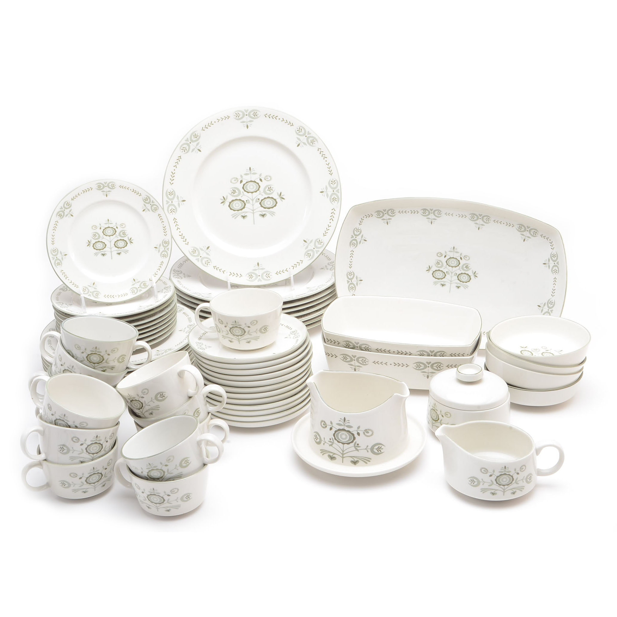 """Collection of Franciscan """"Heritage"""" Dinnerware"""