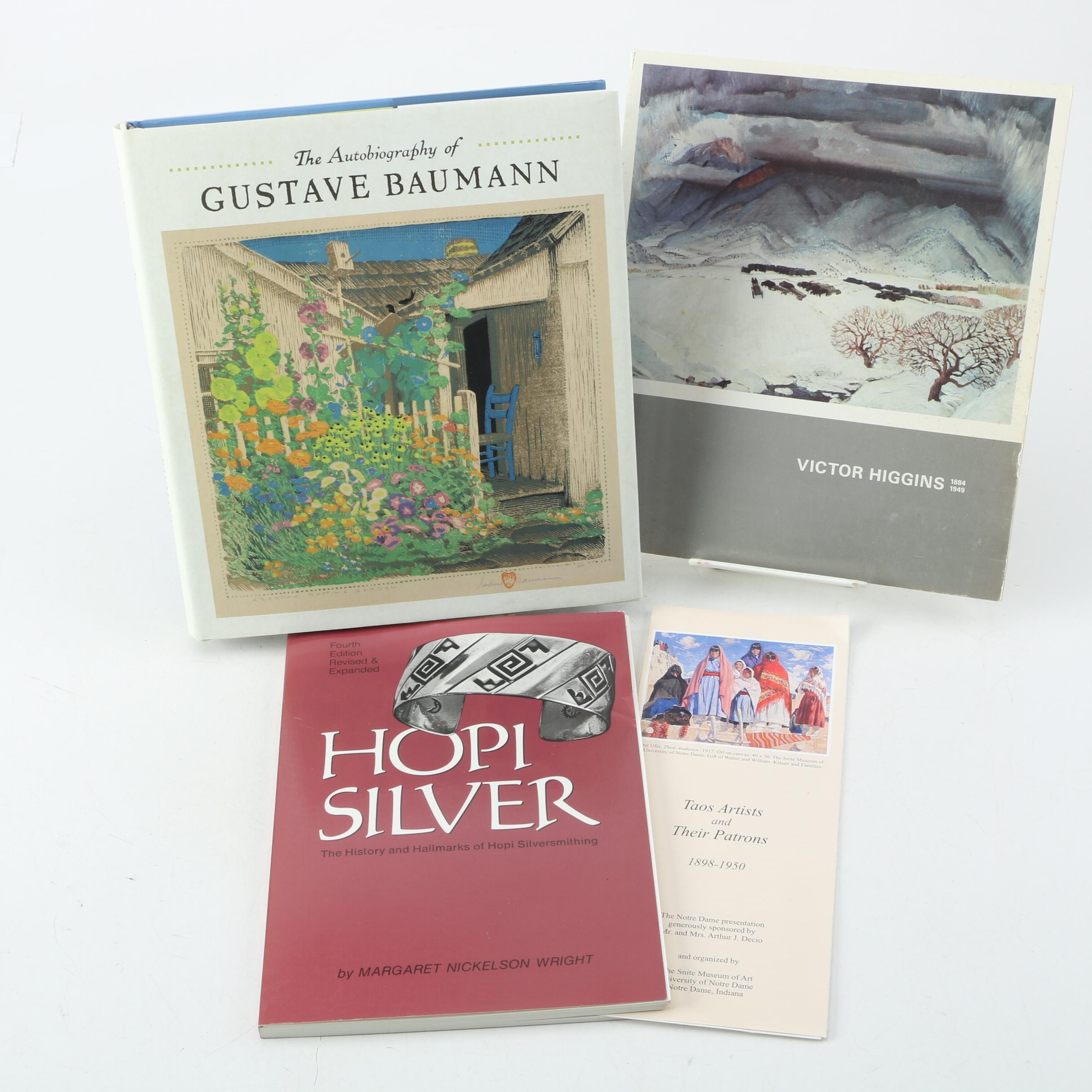 Southwestern Books Including Baumann, Hopi Silver, and Victor Higgins