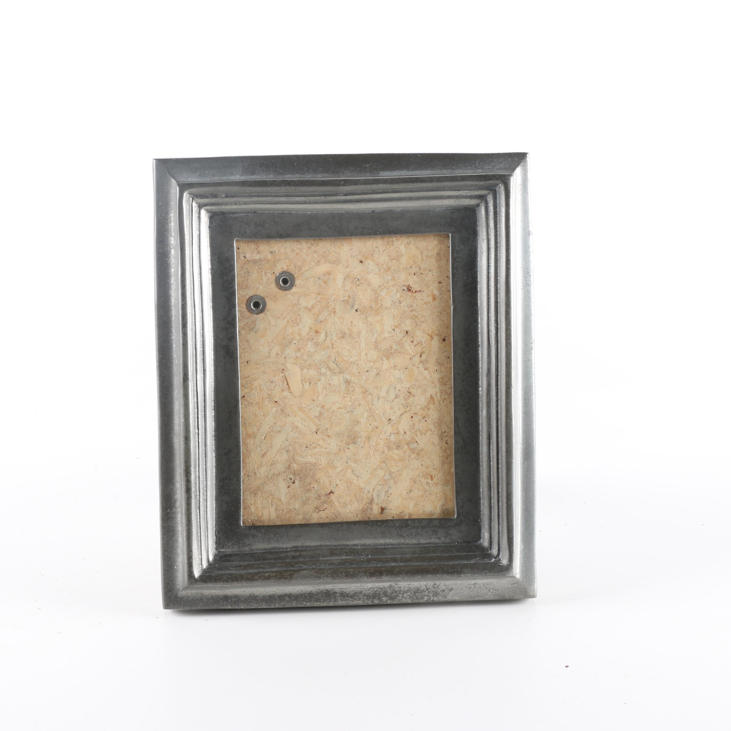 Portuguese Pewter Picture Frame