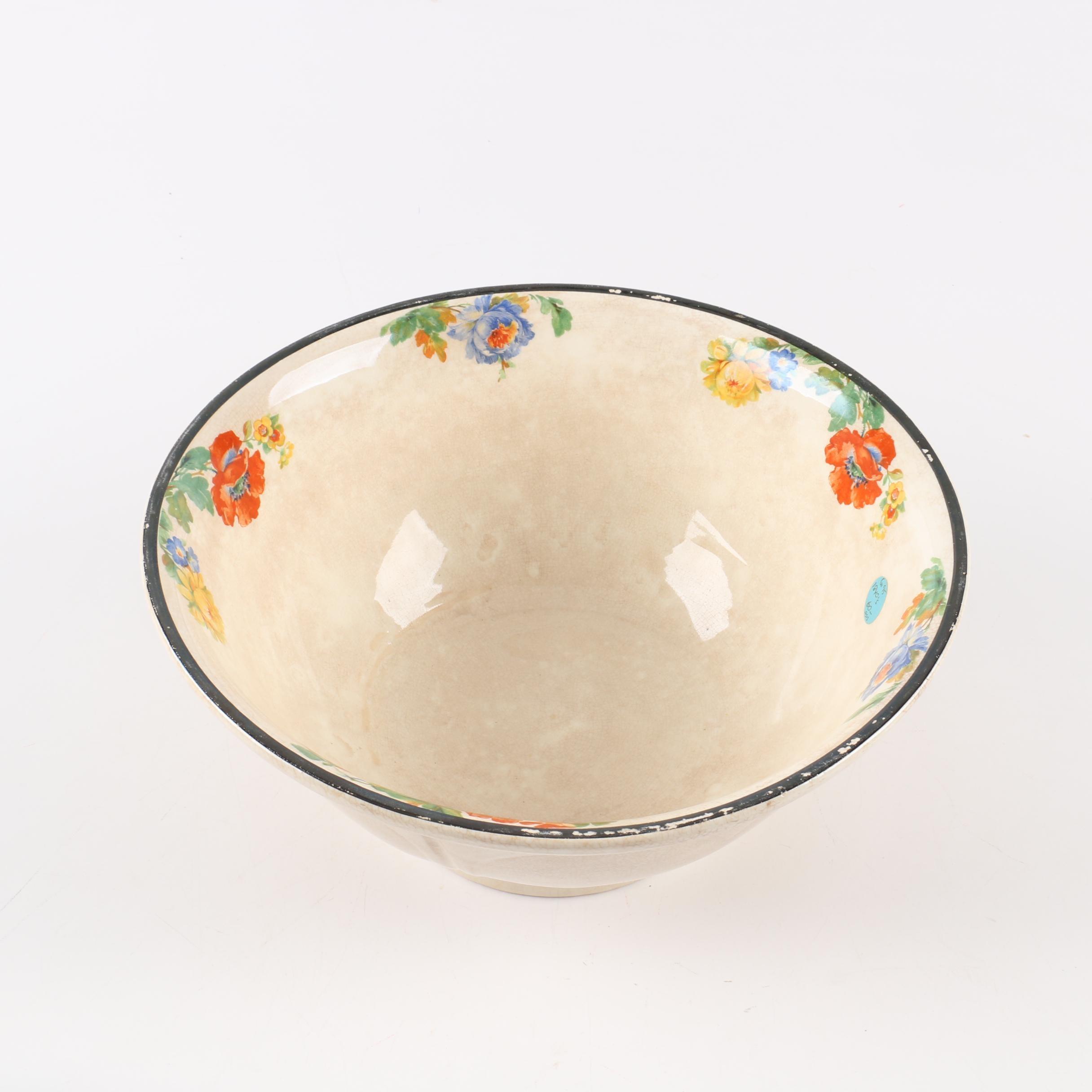 """Harker Floral """"Melrose"""" Ceramic Bowl"""