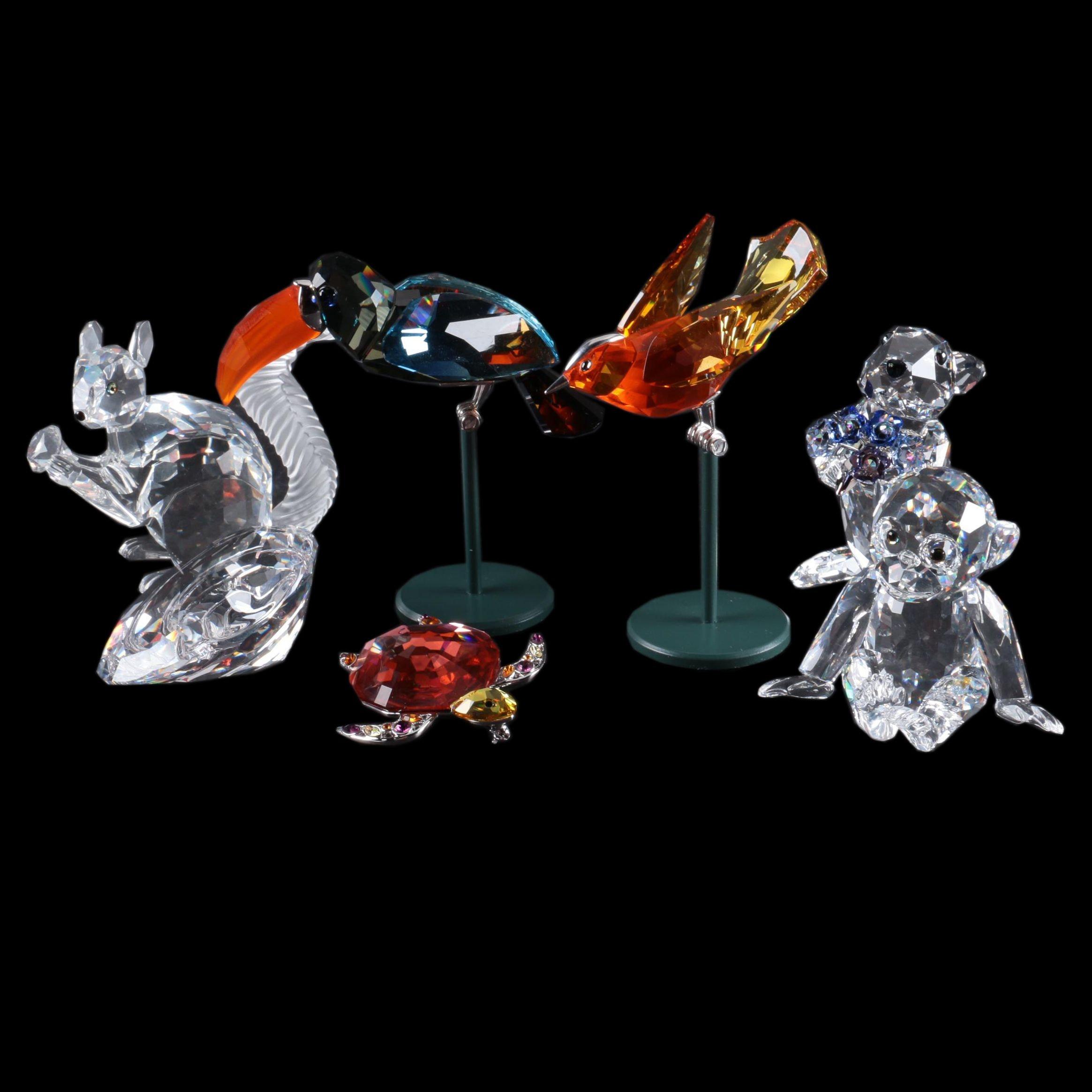 Swarovski Crystal Animal Figurines