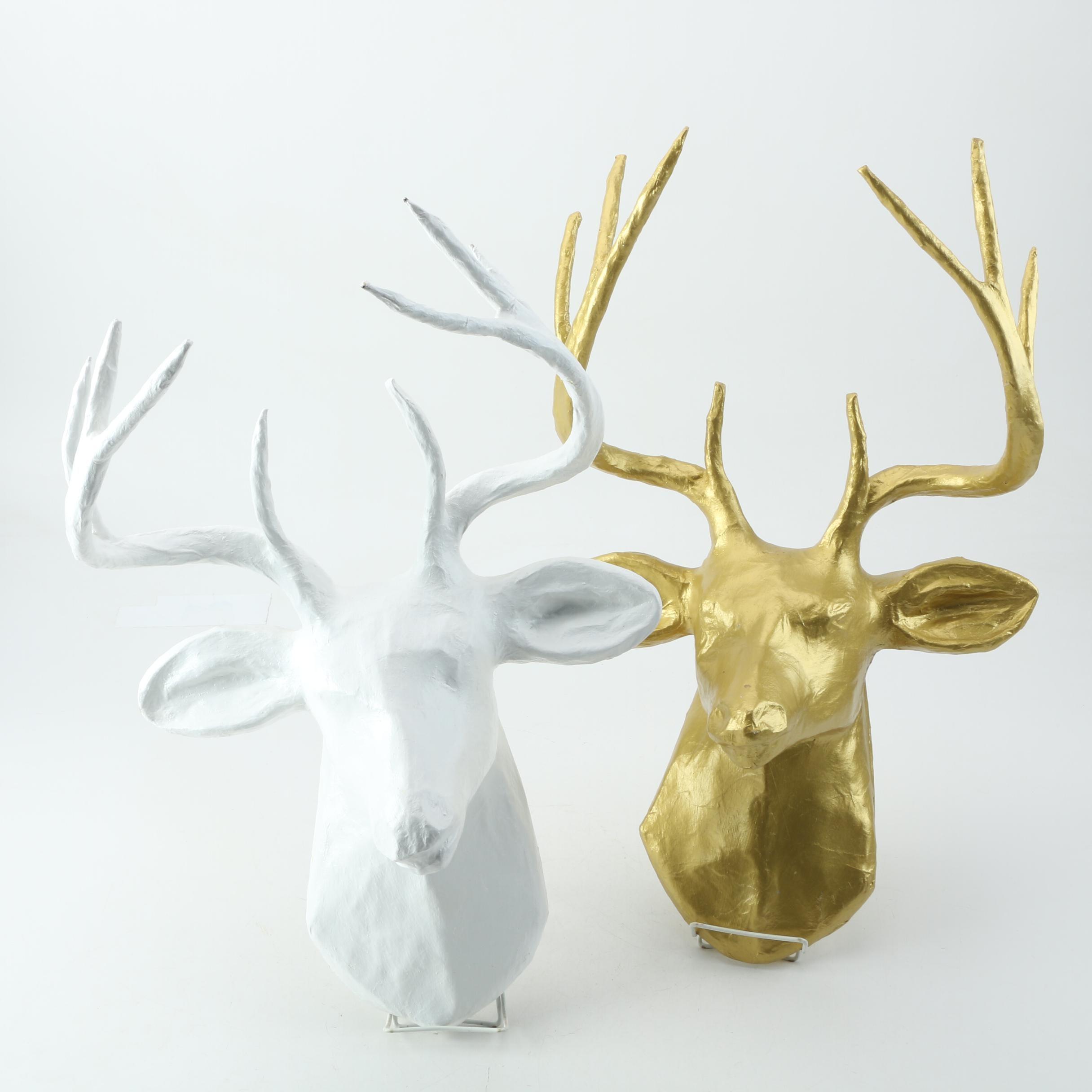 Decorative Deer Head Wall Mounts