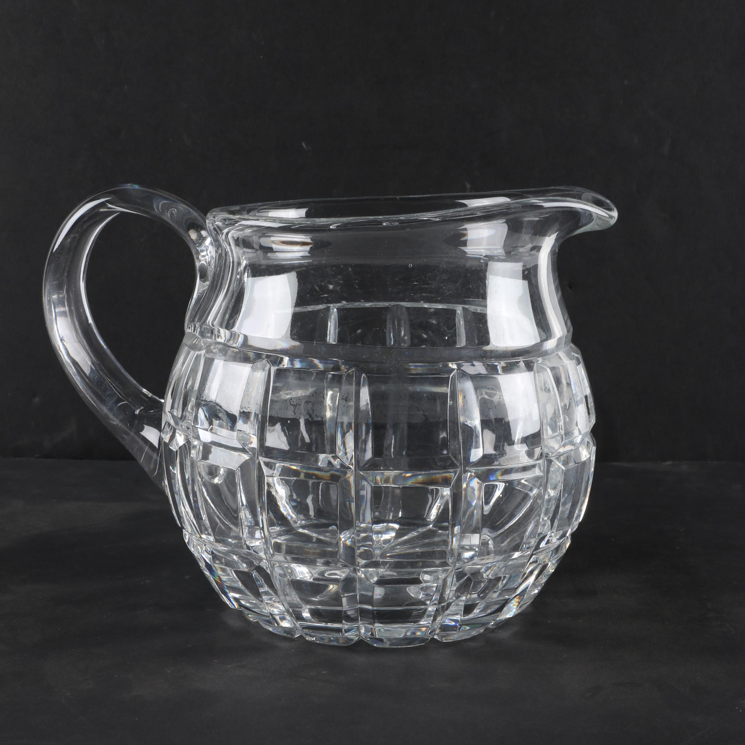 "Waterford Crystal ""London"" Pitcher"
